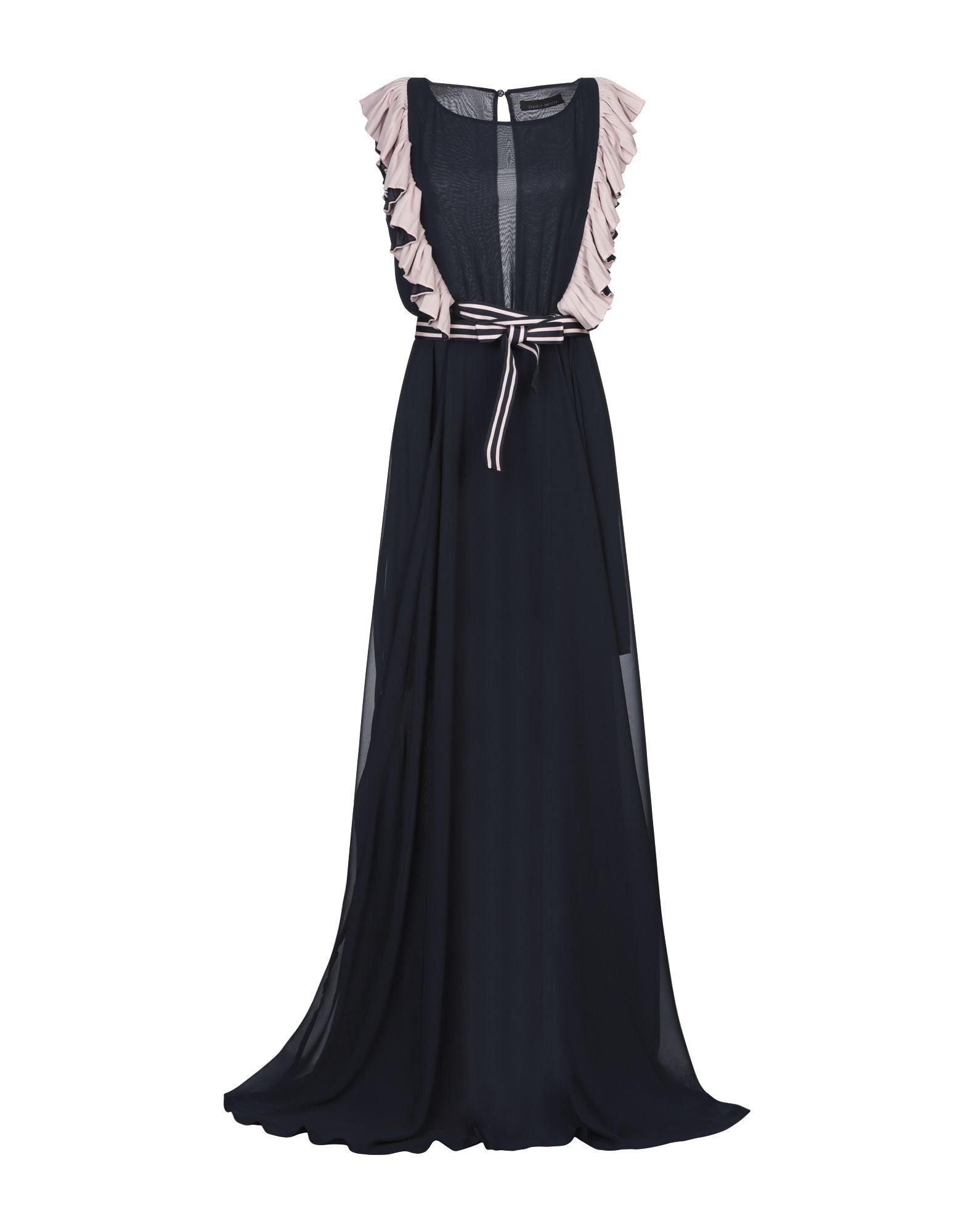 FRANKIE MORELLO Длинное платье платье frankie morello голубой