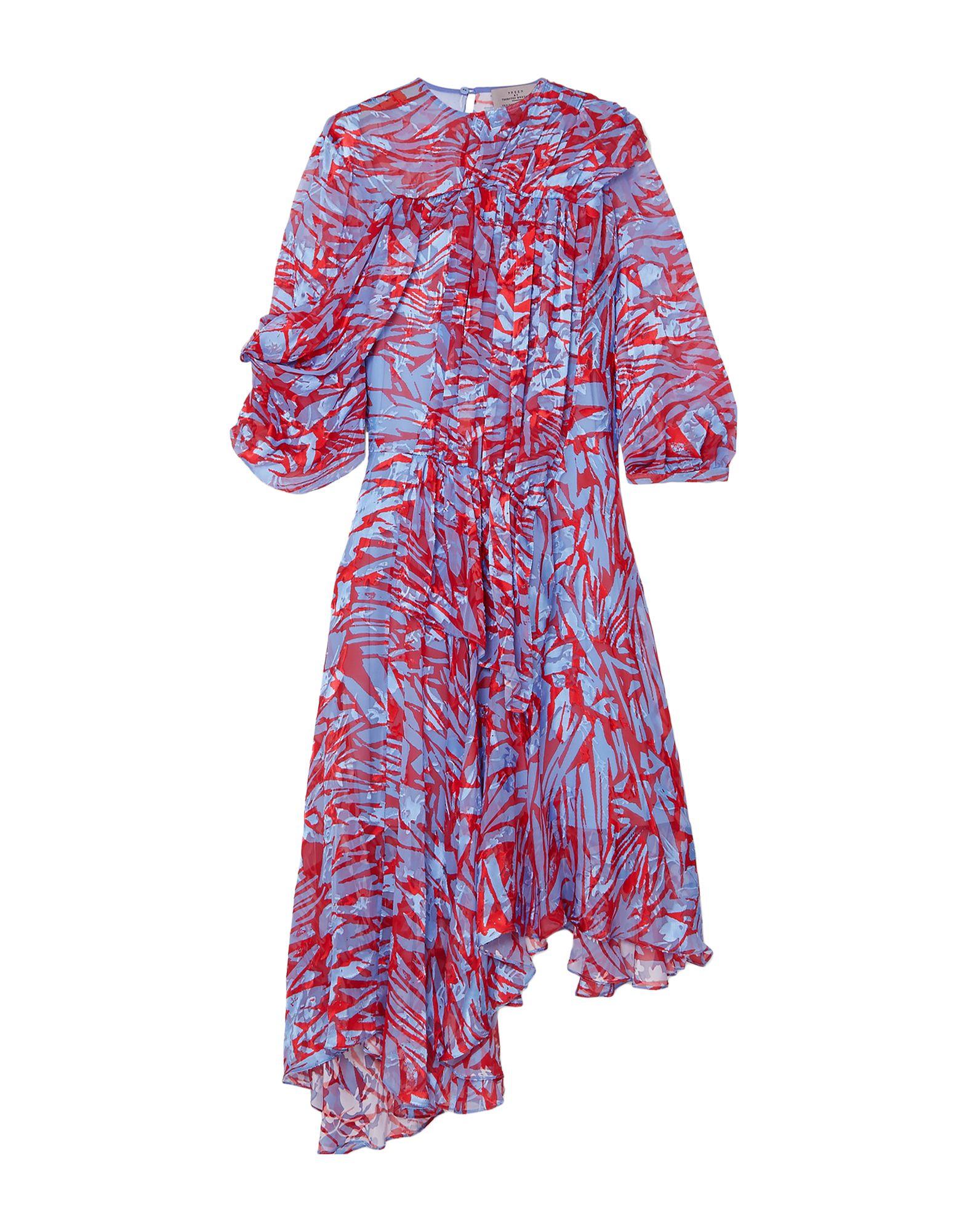 PREEN by THORNTON BREGAZZI Платье длиной 3/4 топ preen