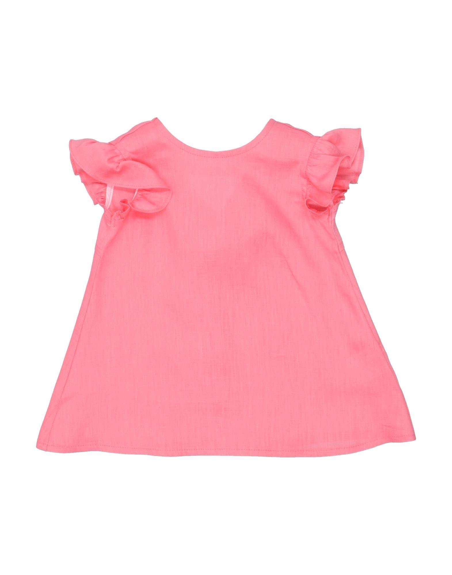 《セール開催中》ALETTA ガールズ 0-24 ヶ月 ワンピース・ドレス ピンク 1 麻 100%