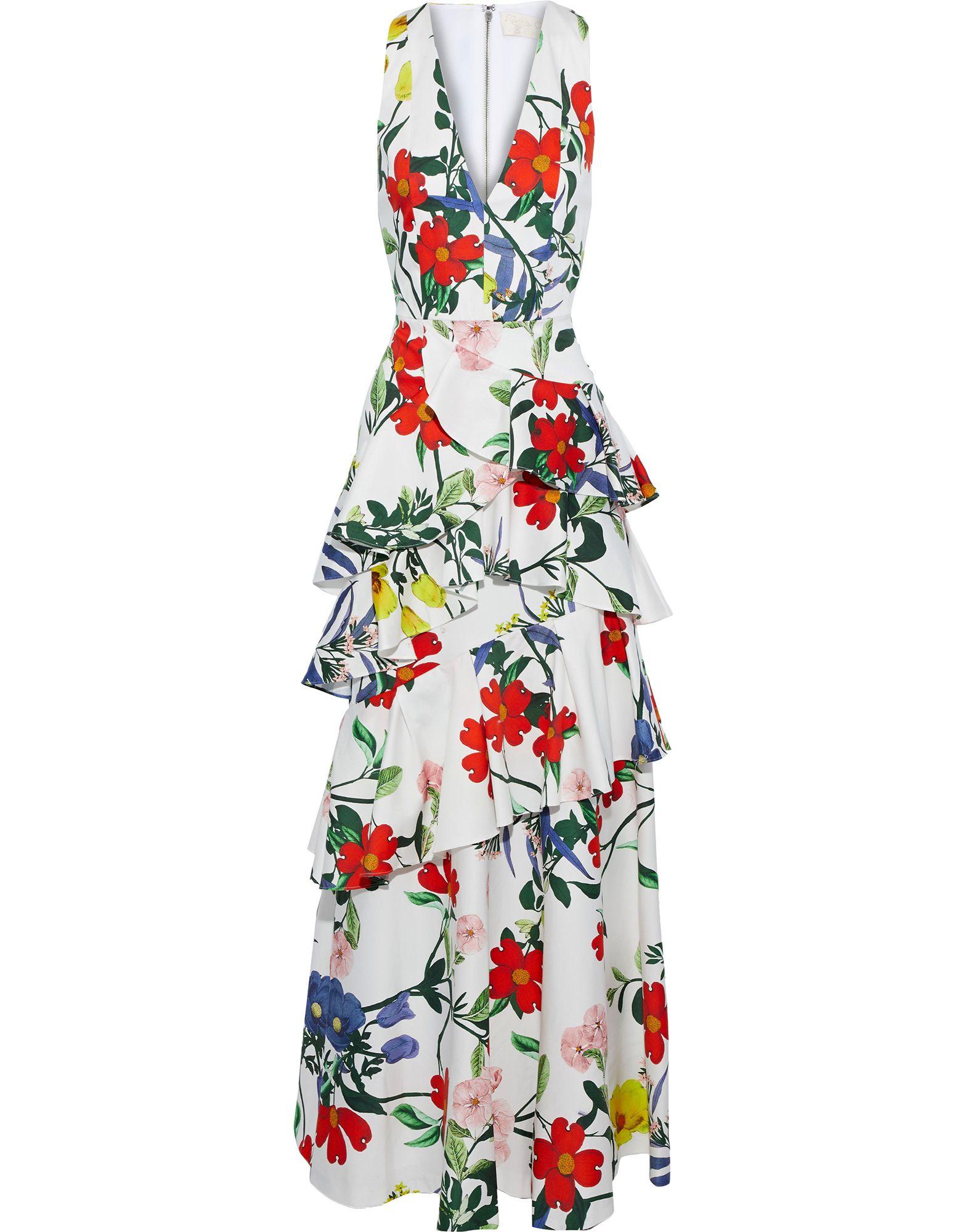 ALICE + OLIVIA Длинное платье