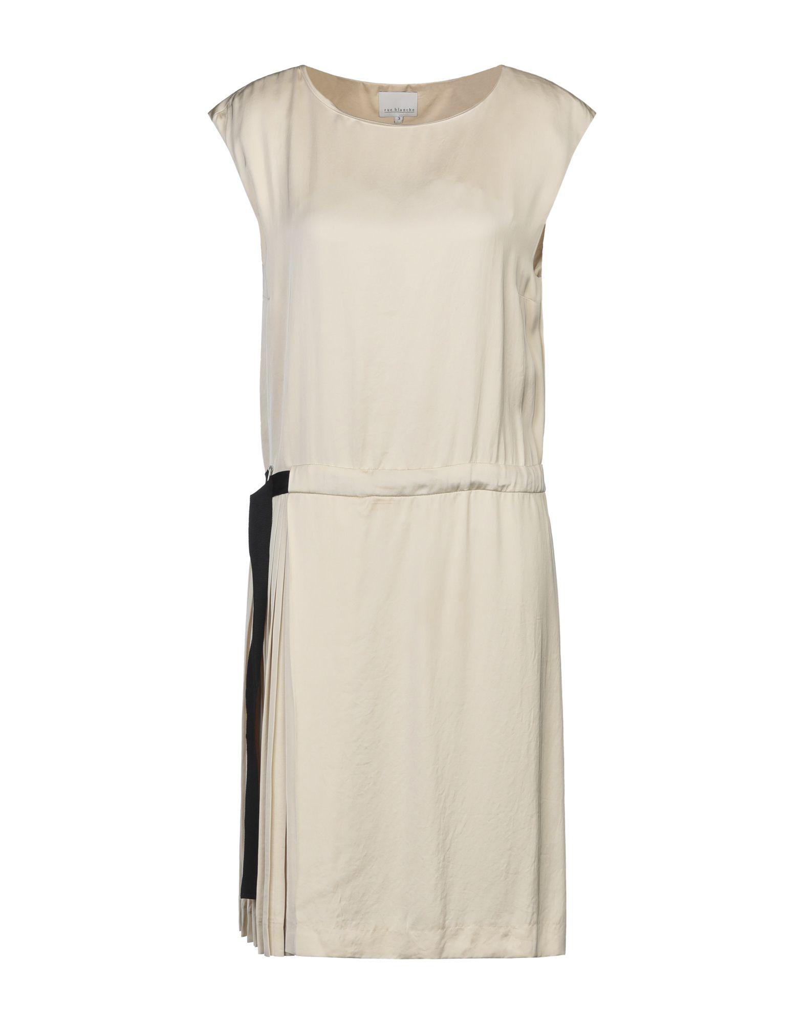RUE BLANCHE Платье до колена rue blanche топ без рукавов