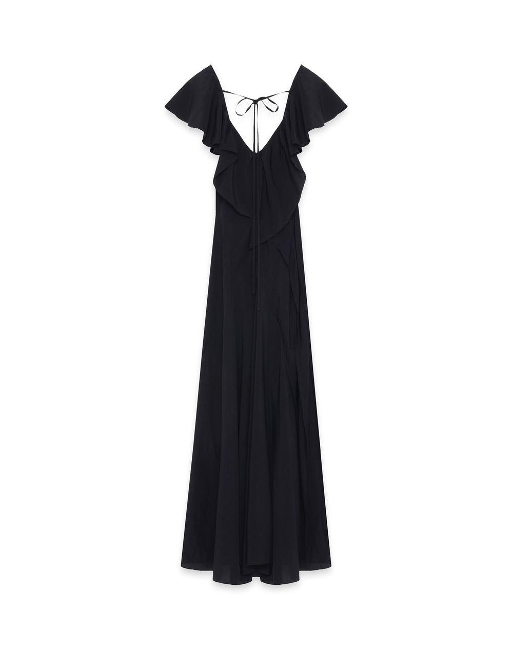 LONG RUFFLE DRESS - Lanvin