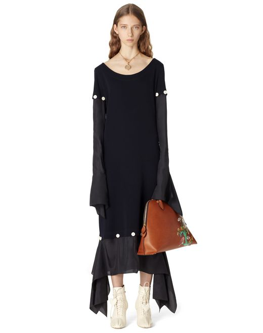LONG SILK DRESS - Lanvin