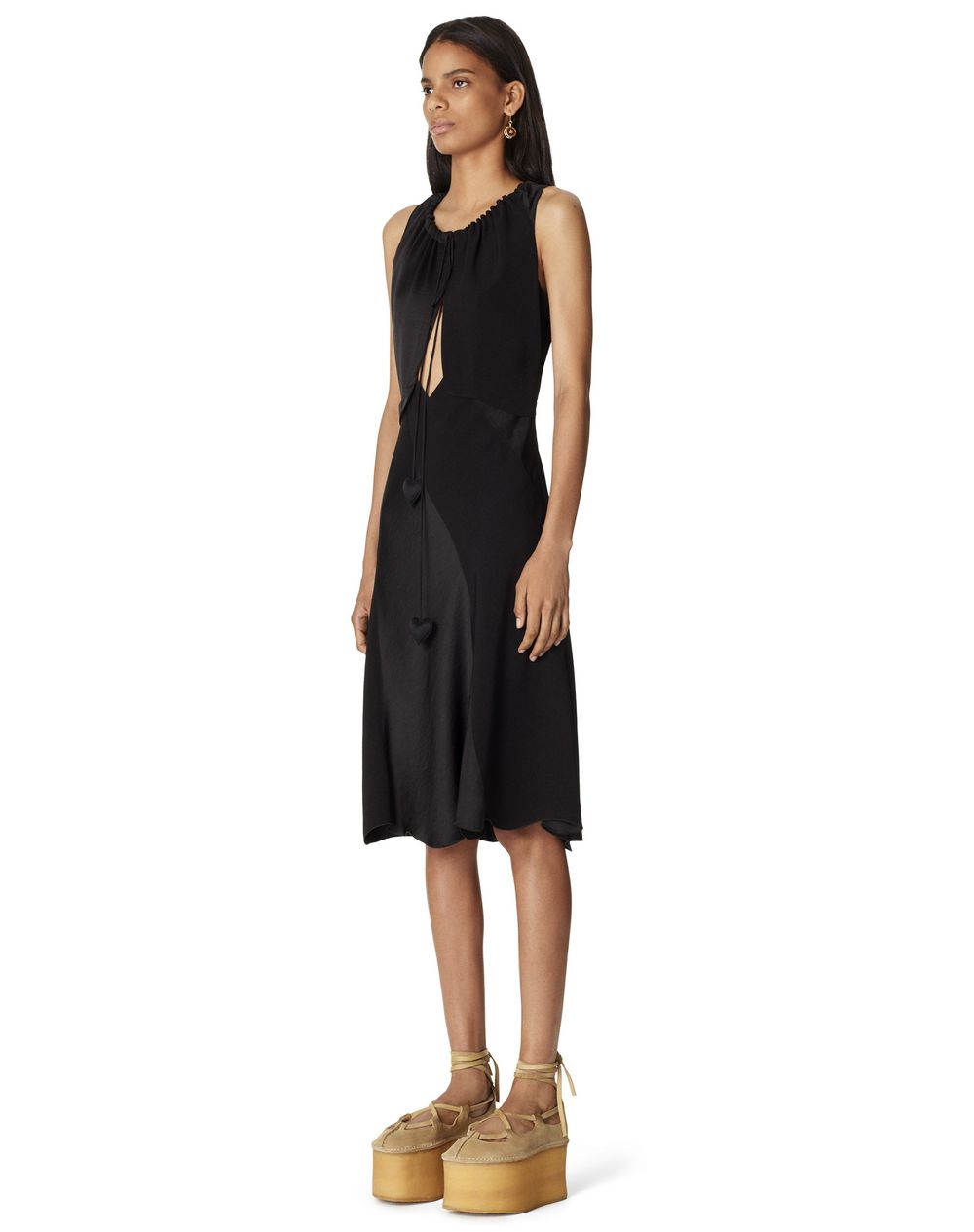 DUAL-MATERIAL DRESS  - Lanvin