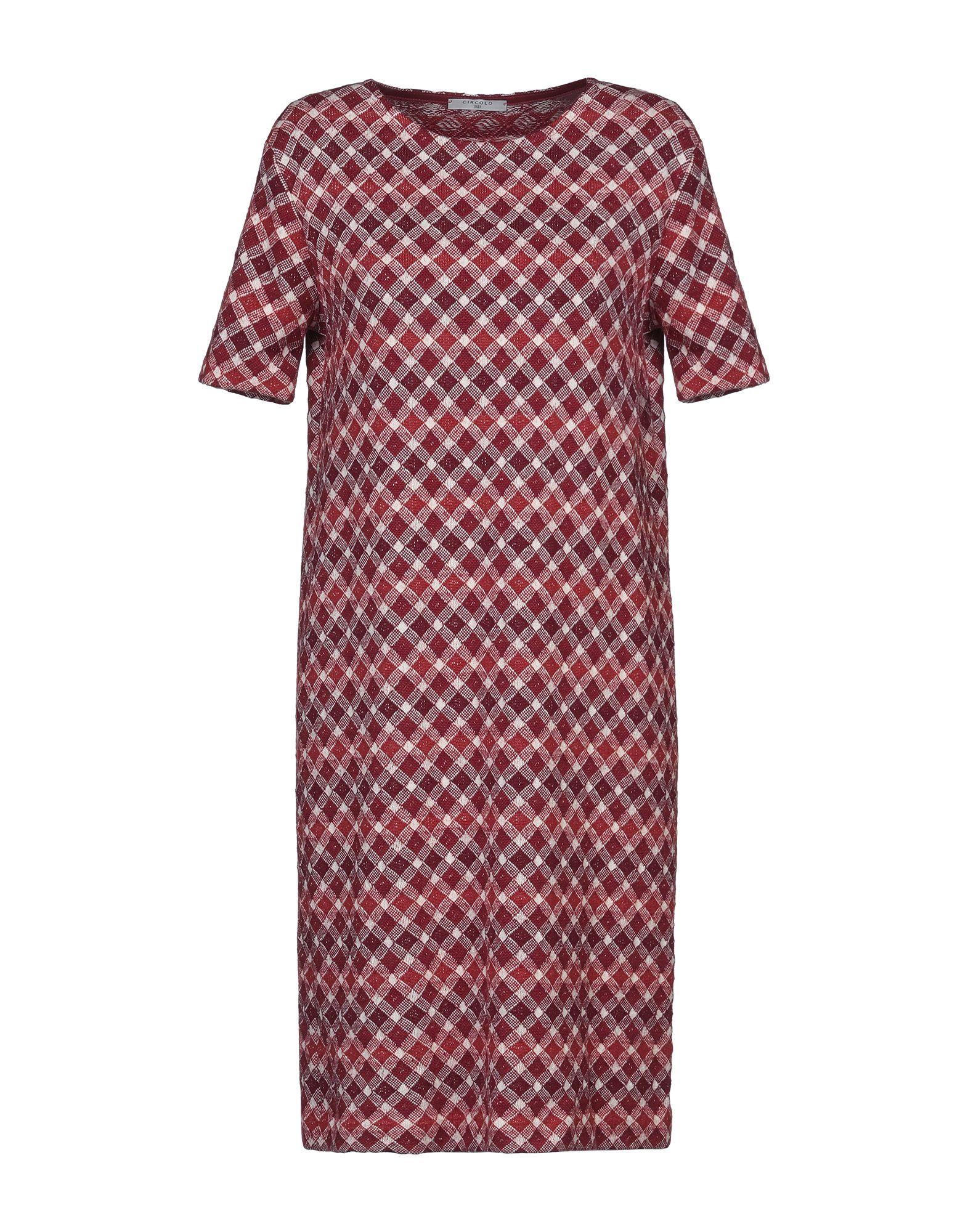 CIRCOLO 1901 Платье до колена