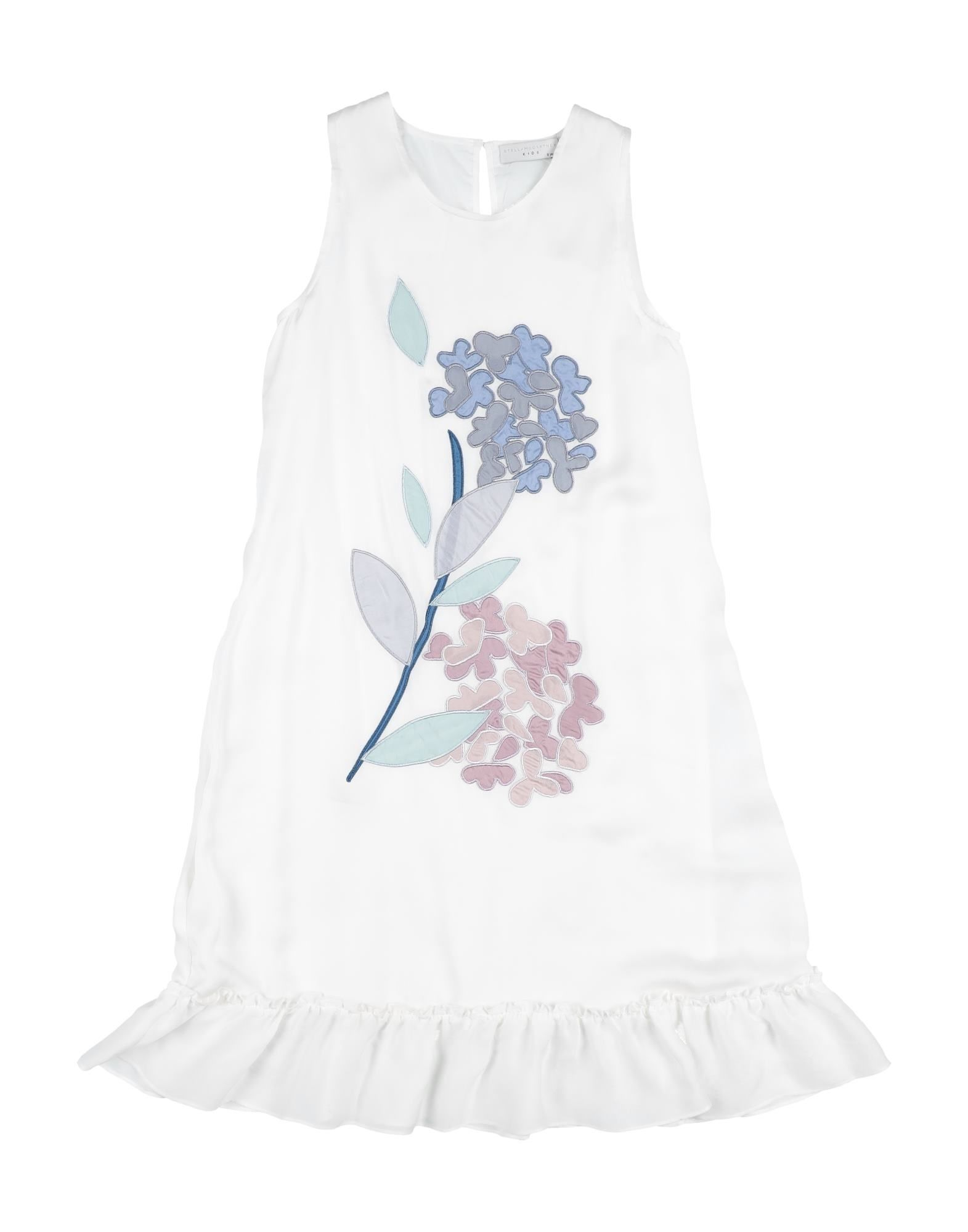 《セール開催中》STELLA McCARTNEY KIDS ガールズ 9-16 歳 ワンピース&ドレス ホワイト 12 シルク 100%