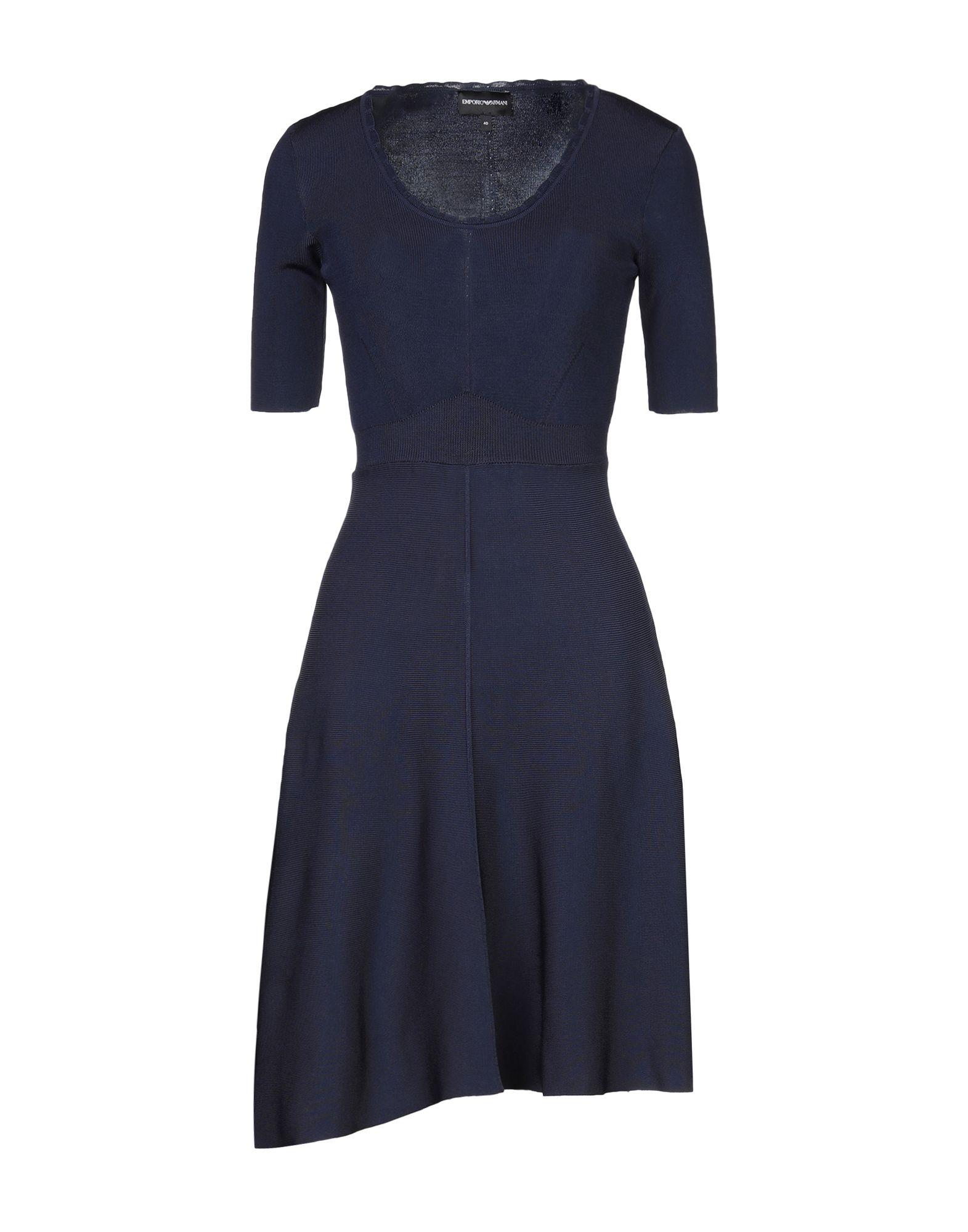 EMPORIO ARMANI Короткое платье