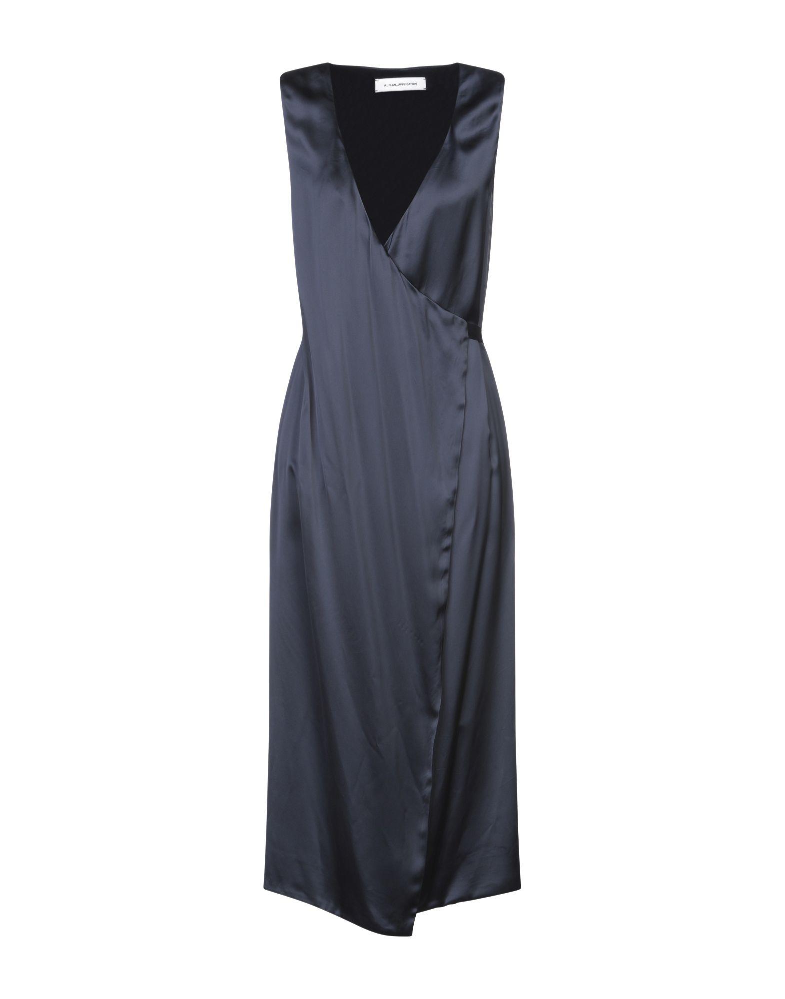 A_PLAN_APPLICATION Платье длиной 3/4
