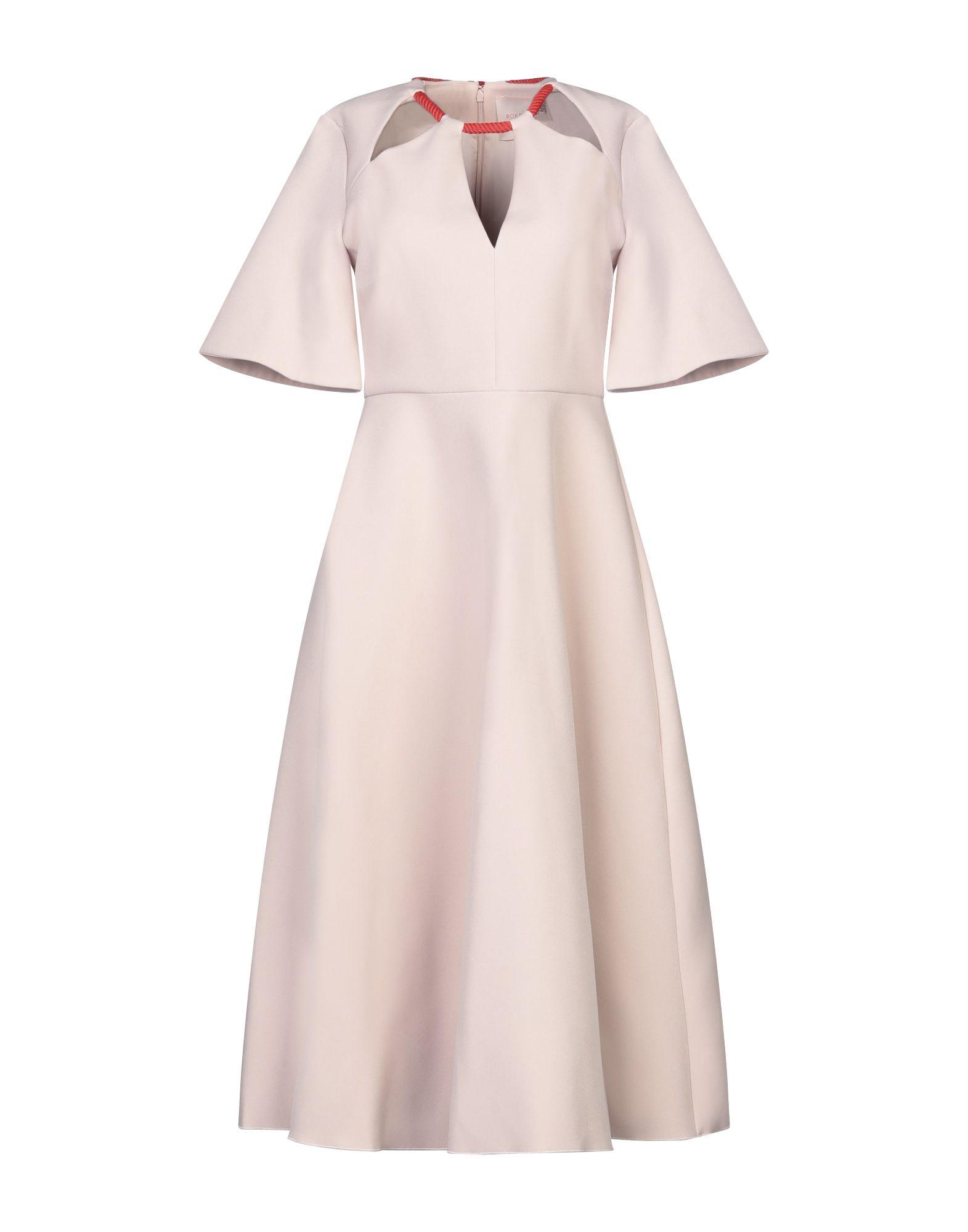 HALSTON Платье длиной 3/4