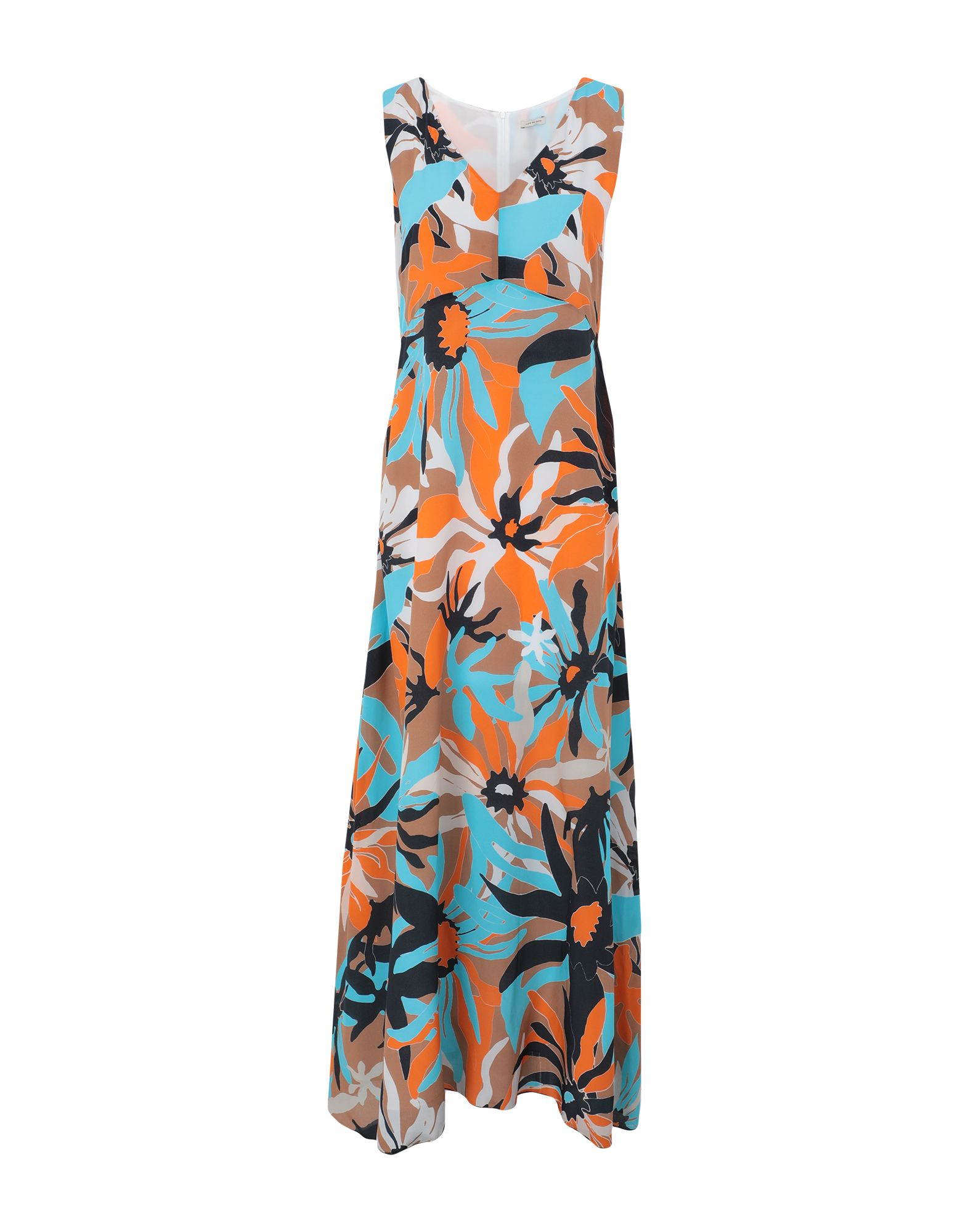 JUPE DE SATIN Длинное платье