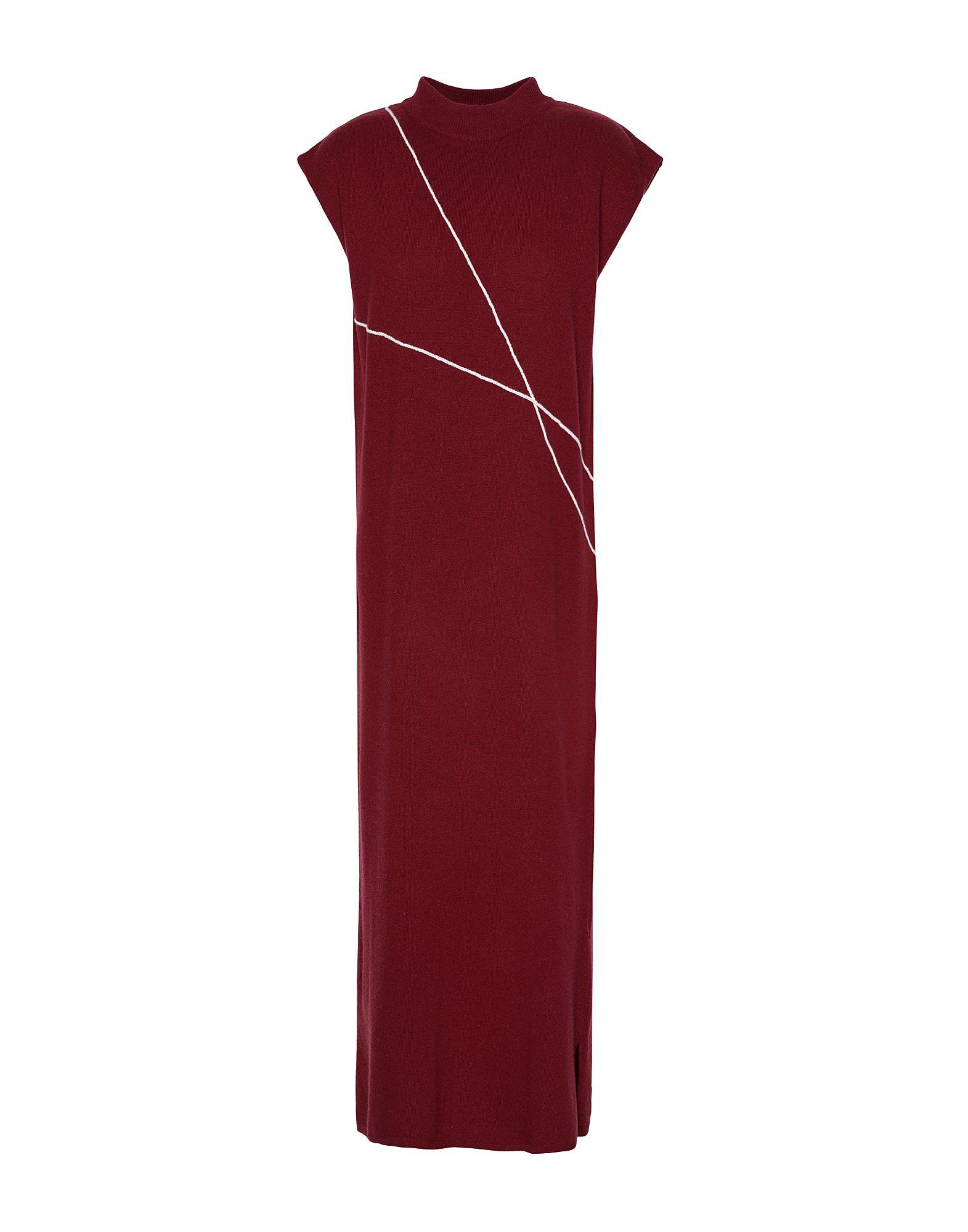 8 by YOOX Платье длиной 3/4 платье miss blumarine платья миди до колен