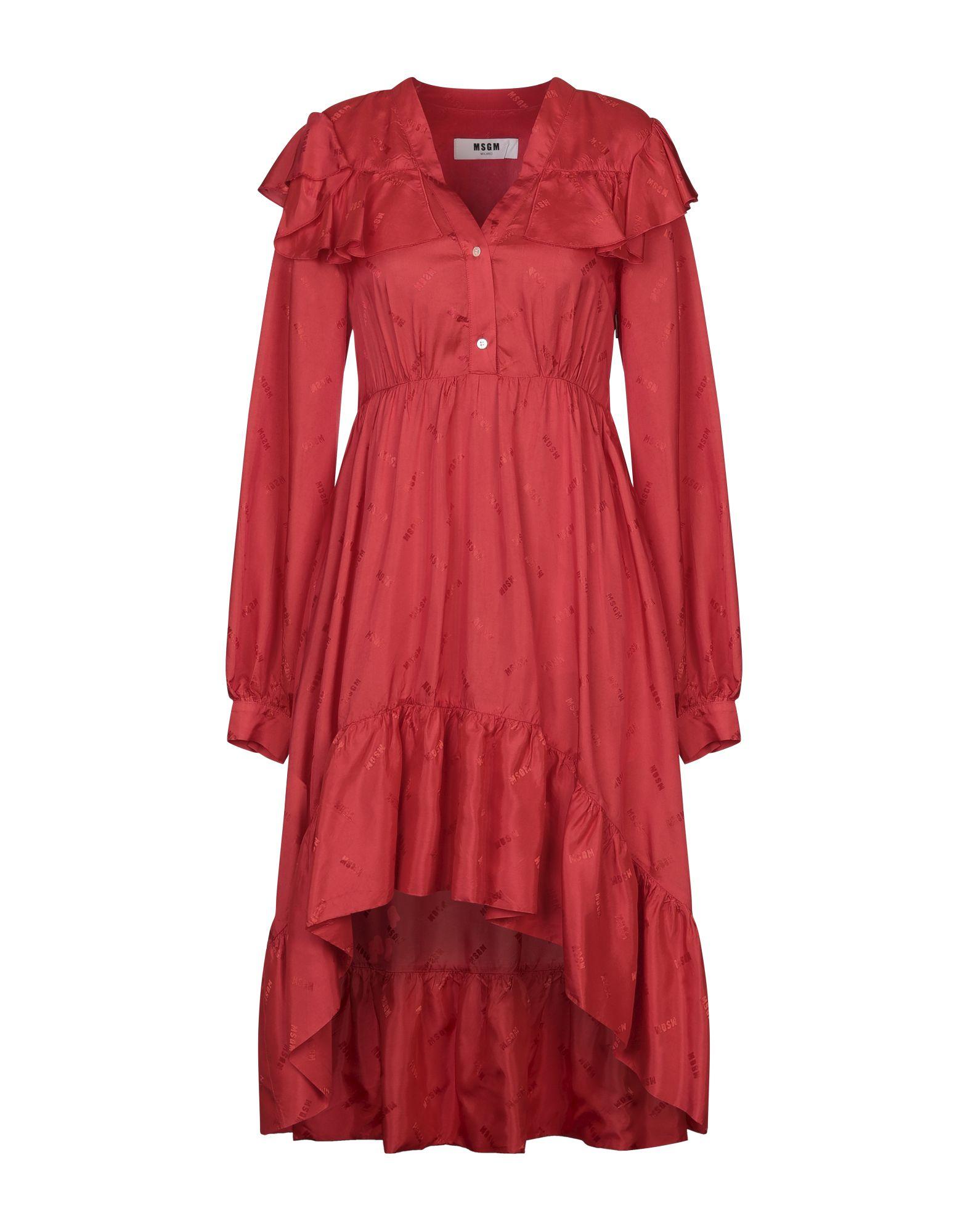 Фото - MSGM Платье длиной 3/4 msgm платье длиной 3 4