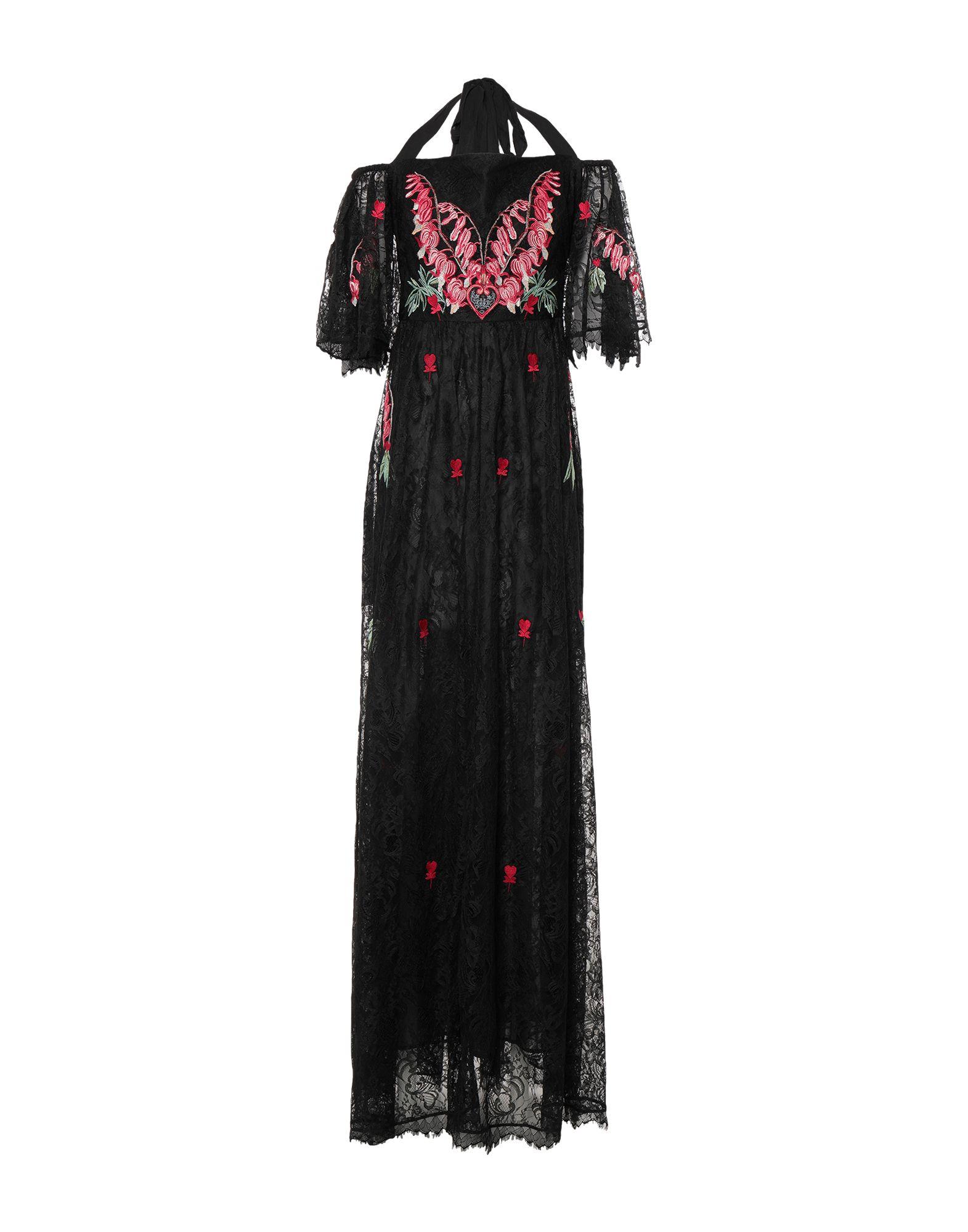 TEMPERLEY LONDON Длинное платье