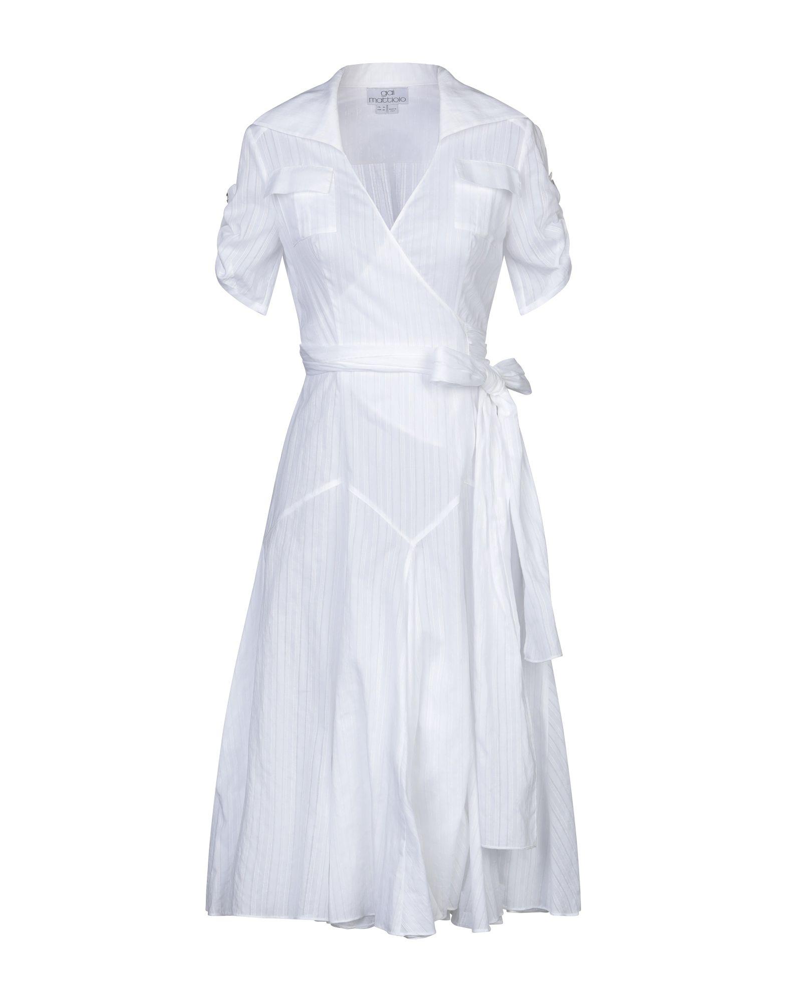 GAI MATTIOLO Платье до колена