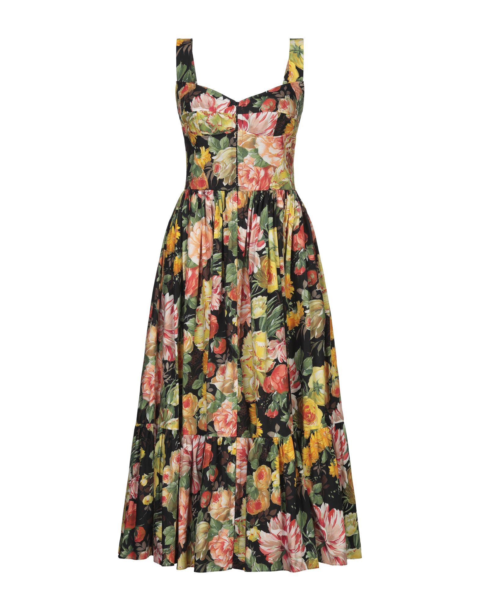 DOLCE & GABBANA Платье длиной 3/4