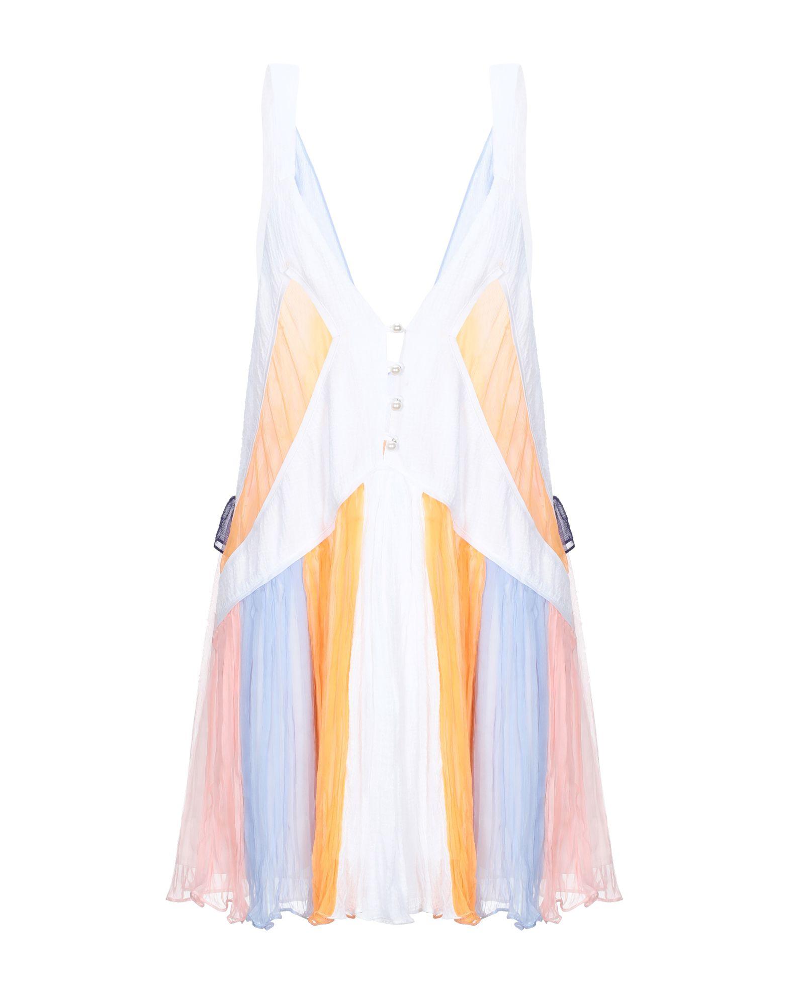 цена CORINA VLADESCU Короткое платье онлайн в 2017 году