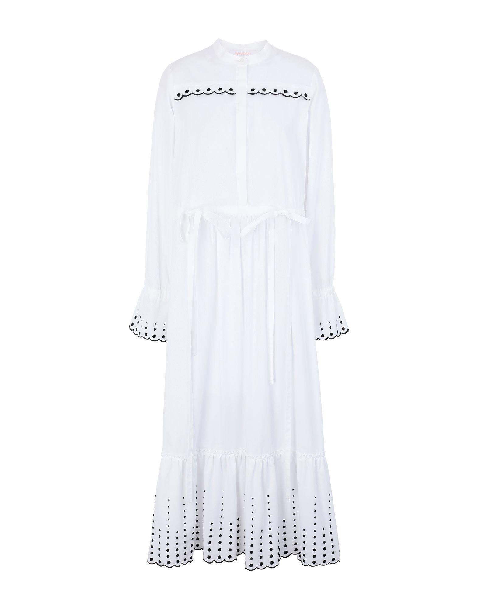 SEE BY CHLOÉ Длинное платье