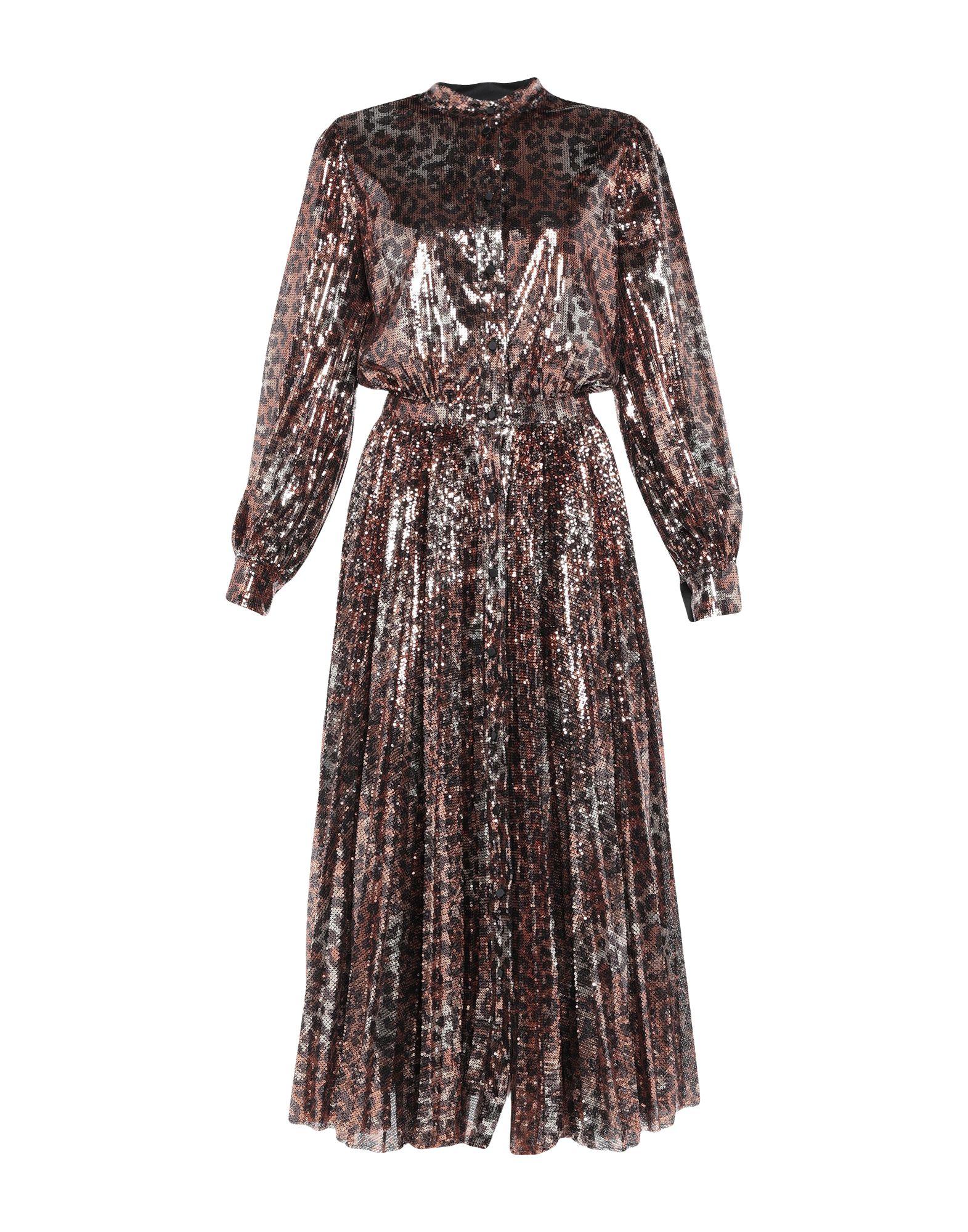 цена MSGM Длинное платье онлайн в 2017 году