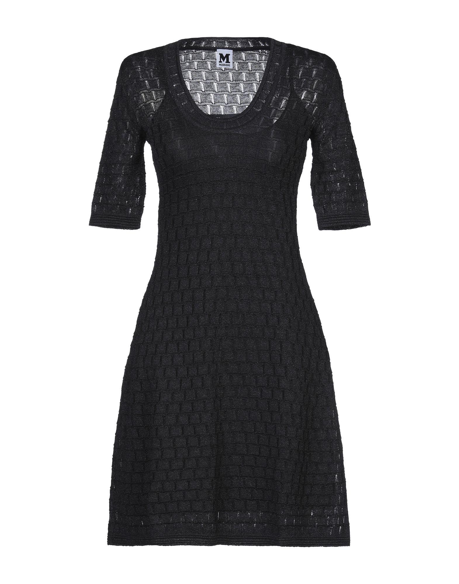 цена M MISSONI Короткое платье онлайн в 2017 году
