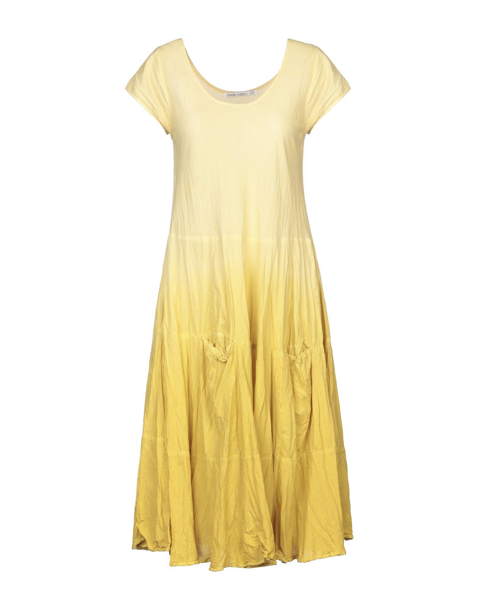 DRESS ADDICT Платье до колена