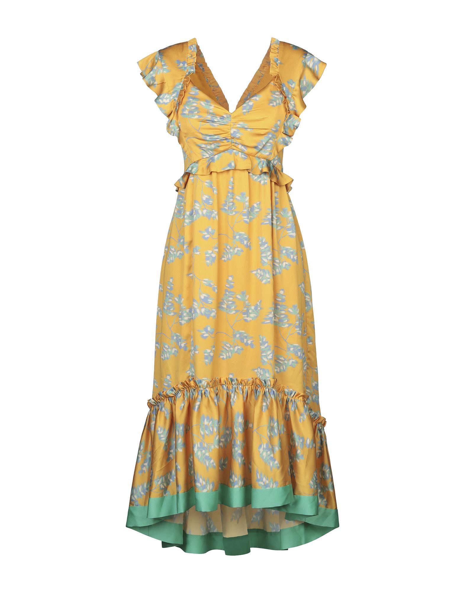 THREE FLOOR Платье до колена
