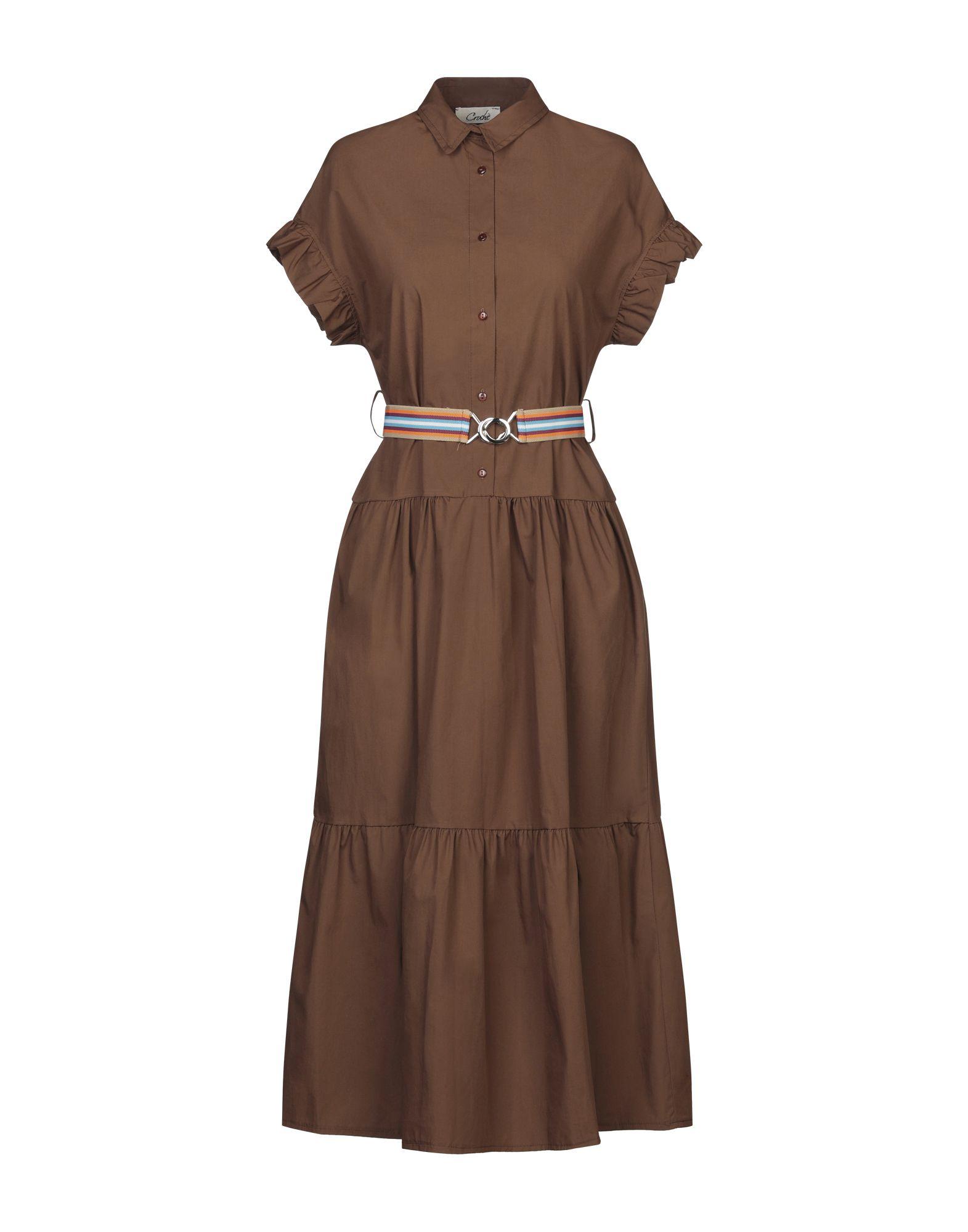 CROCHÈ Платье длиной 3/4