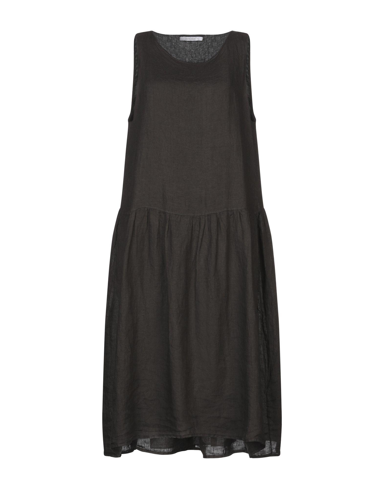 TANDEM Платье до колена цены онлайн