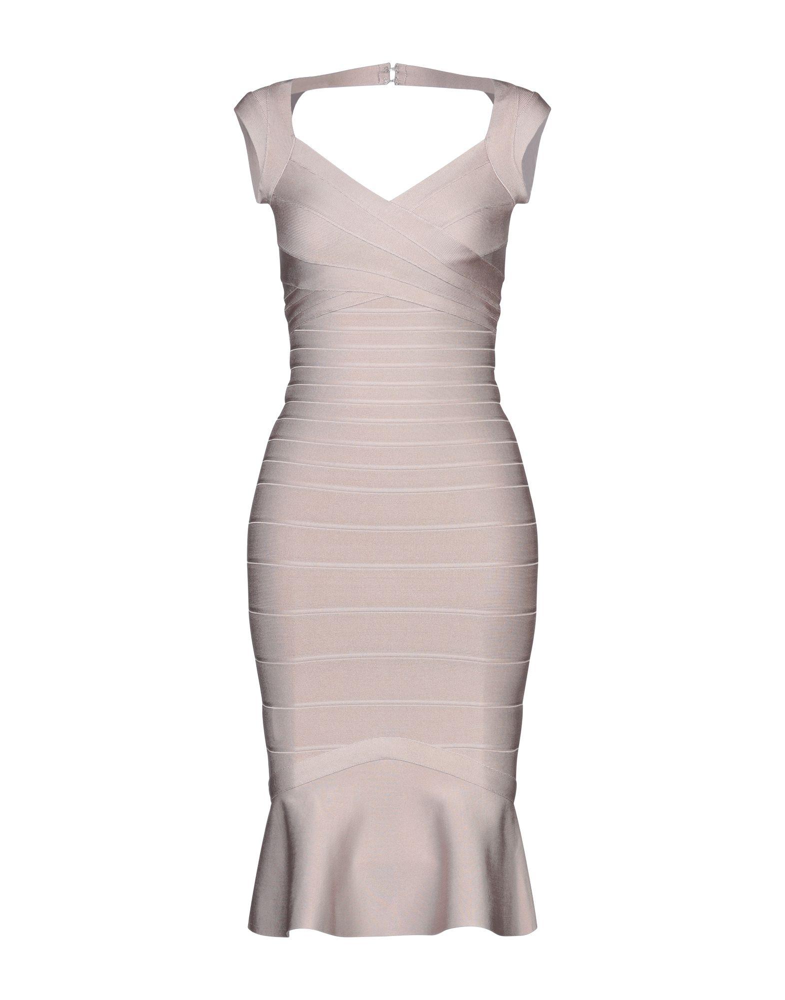 HERVÉ LÉGER Короткое платье