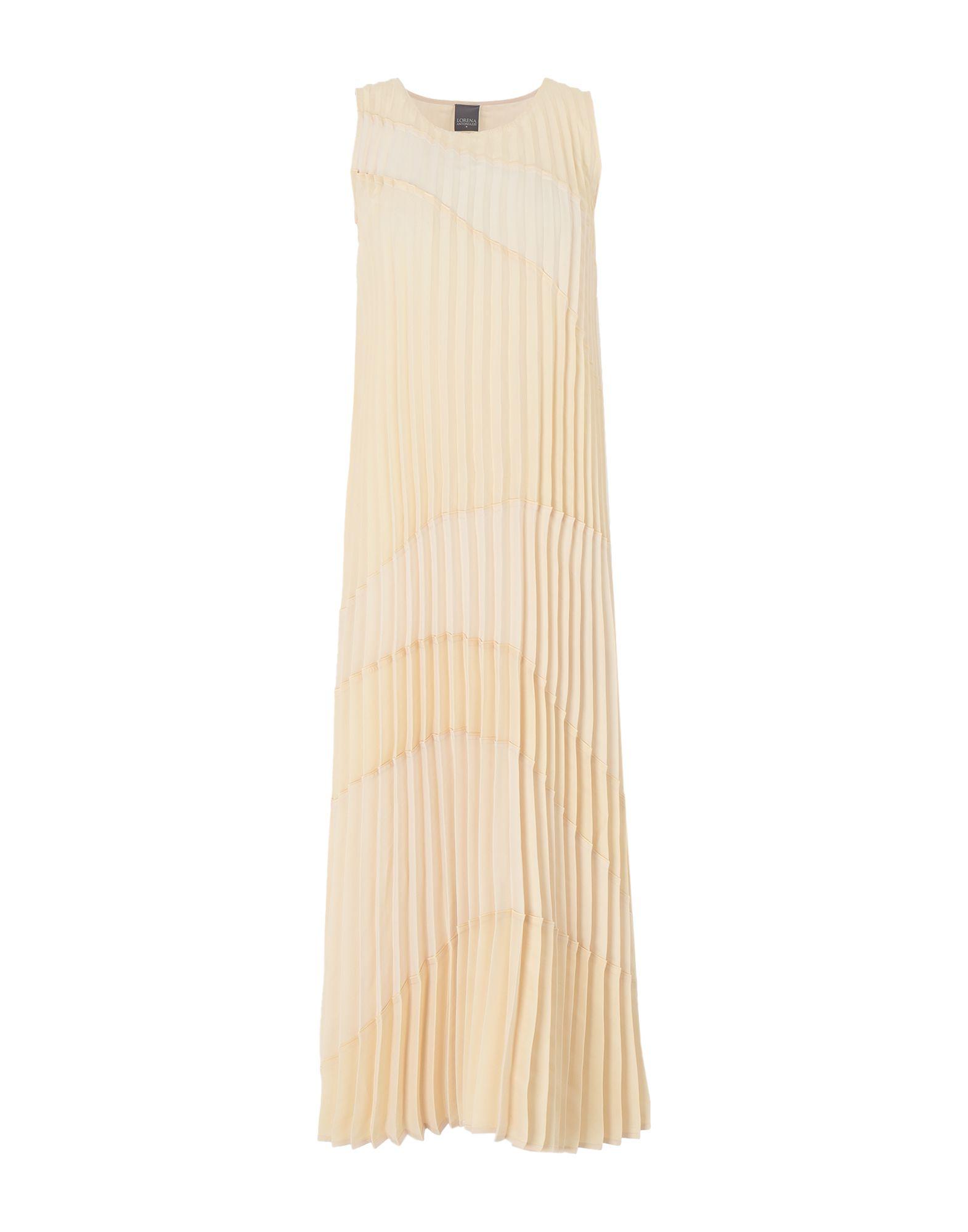 LORENA ANTONIAZZI Длинное платье цена 2017