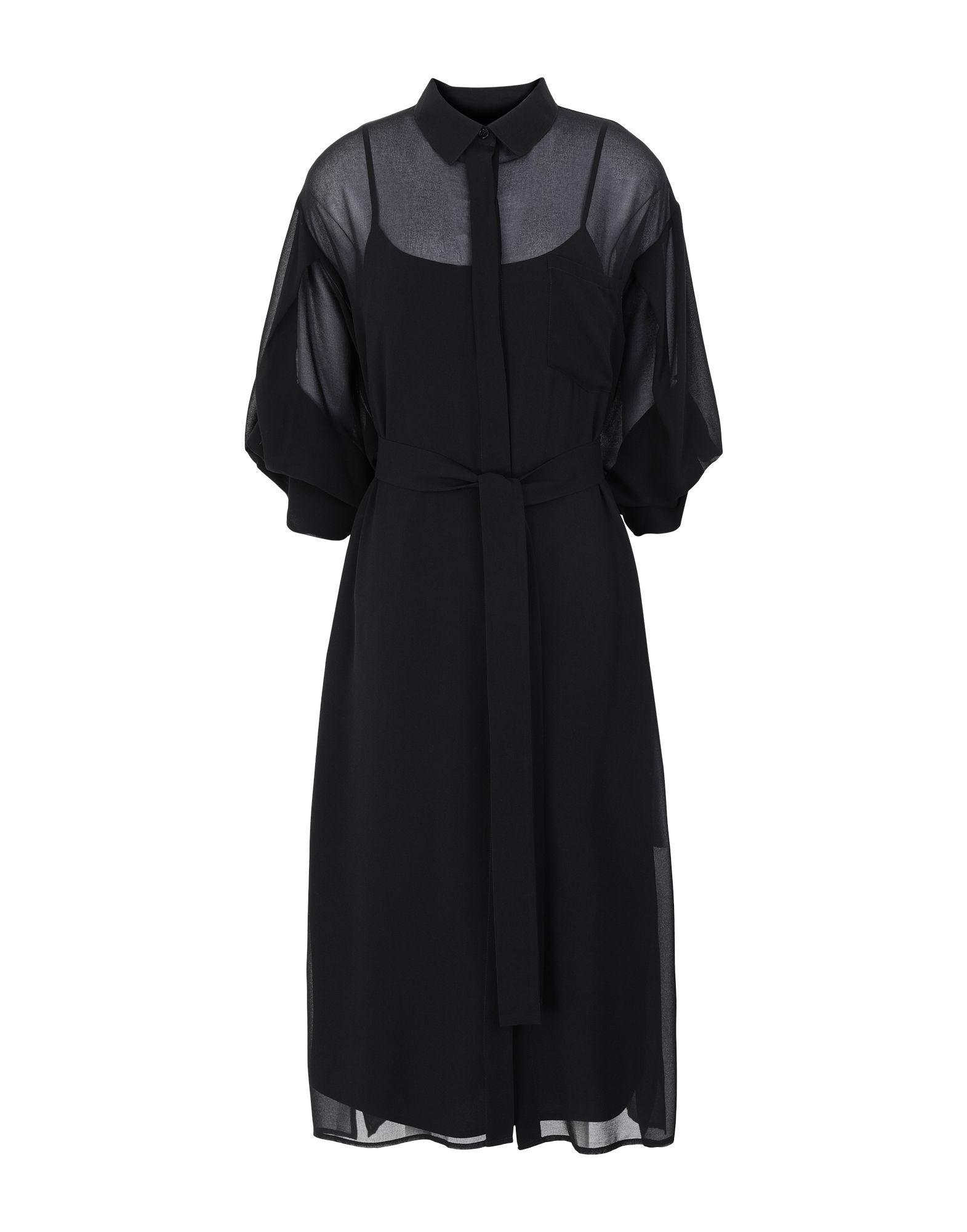 DKNY Платье длиной 3/4 dkny pure юбка длиной 3 4
