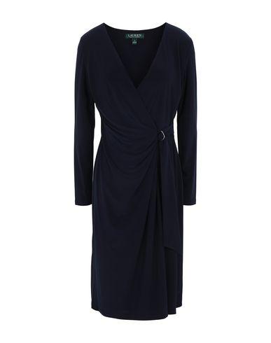 Фото - Женское короткое платье LAUREN RALPH LAUREN темно-синего цвета