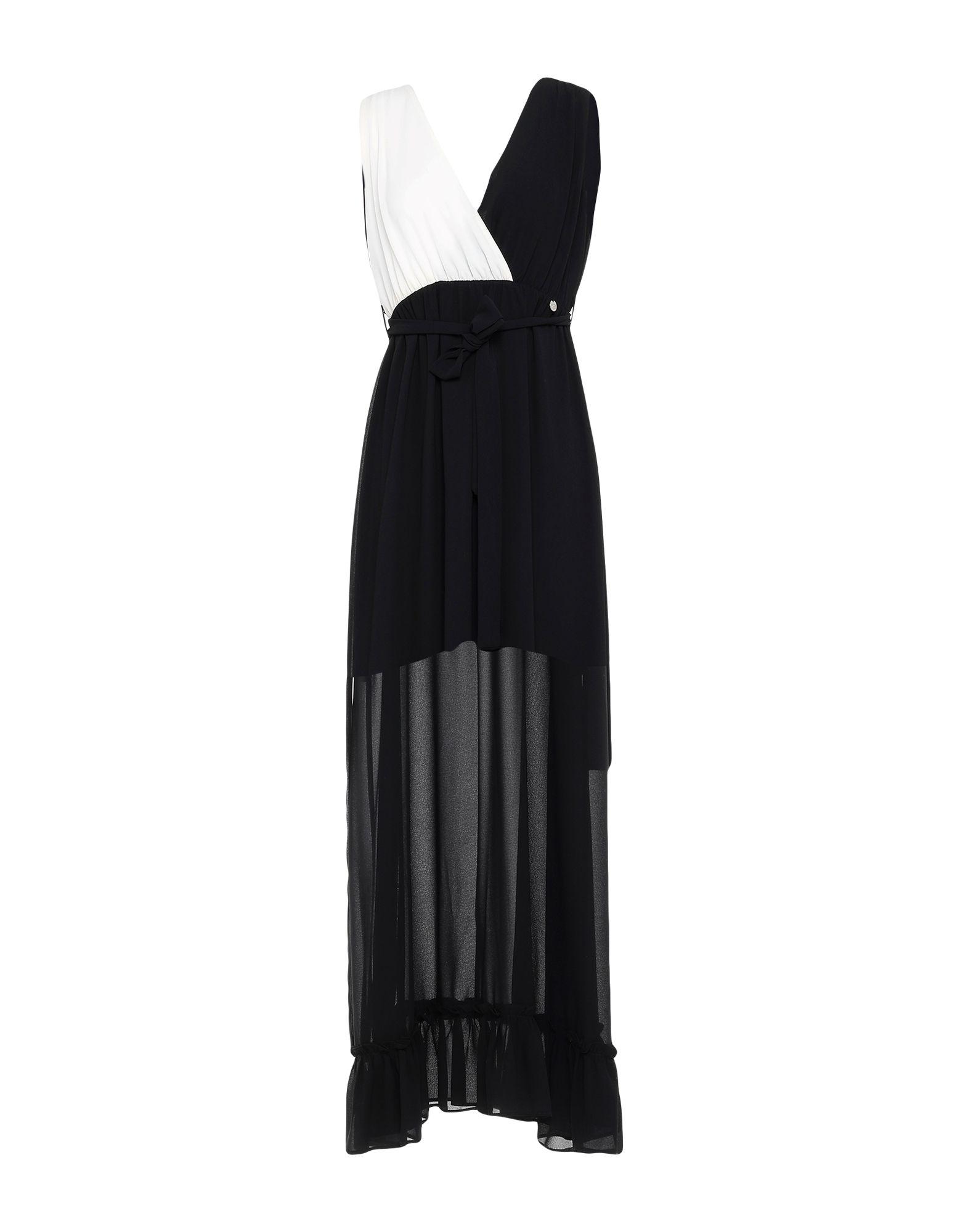 MDM MADEMOISELLE DU MONDE Длинное платье носки mademoiselle mademoiselle mp002xw0h3tw