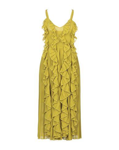 Фото - Платье длиной 3/4 от JE SUIS LE FLEUR кислотно-зеленого цвета