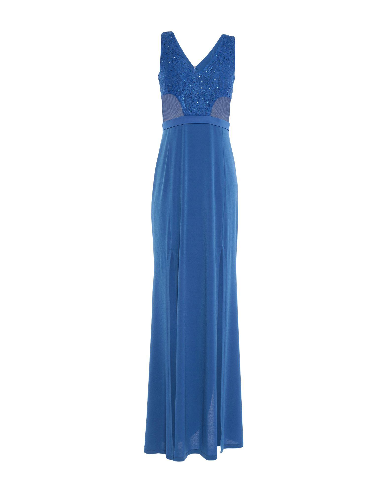 цена VITTORIA ROMANO Длинное платье онлайн в 2017 году