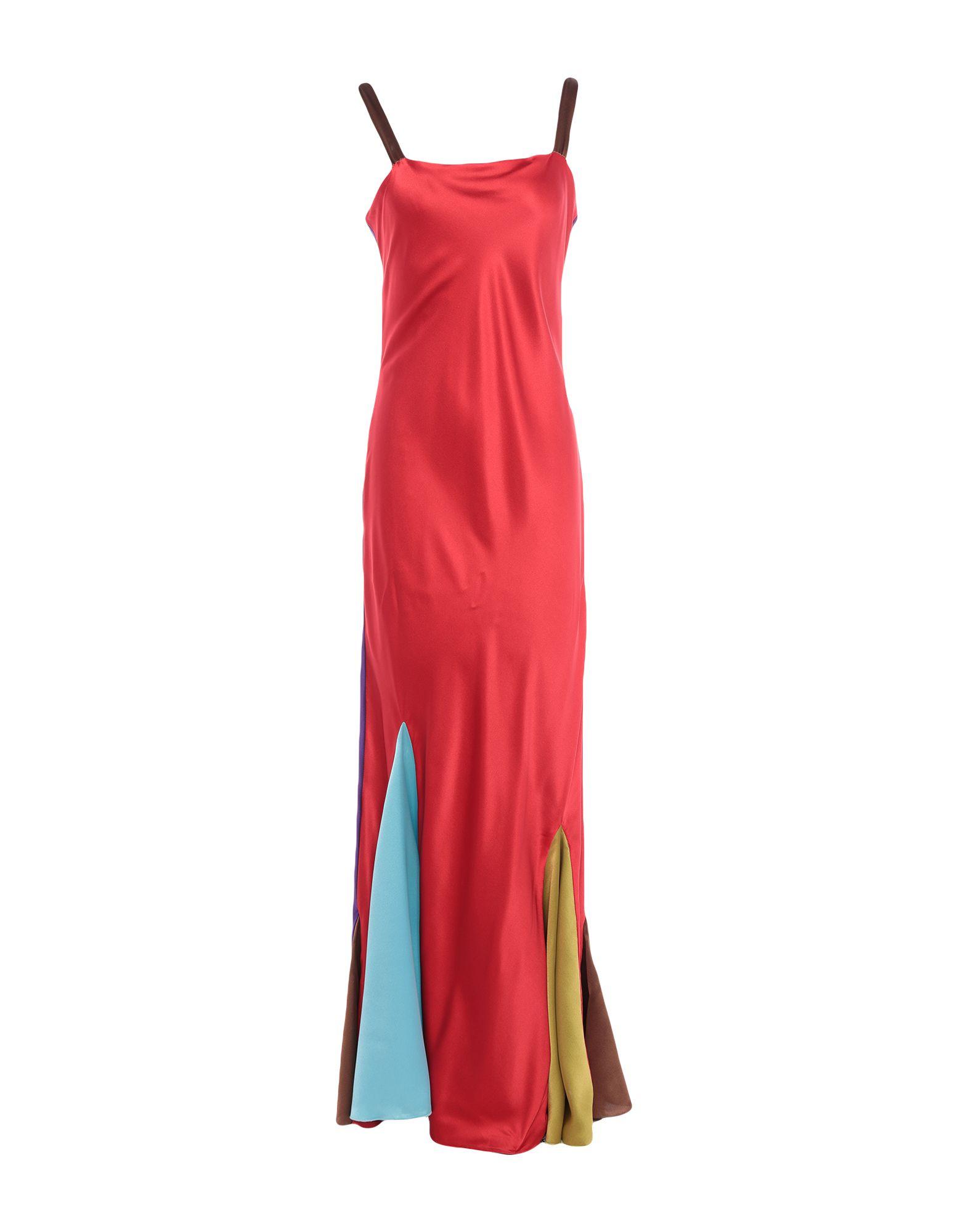 STEPHAN JANSON Длинное платье сабо stephan stephan st031awbrir8