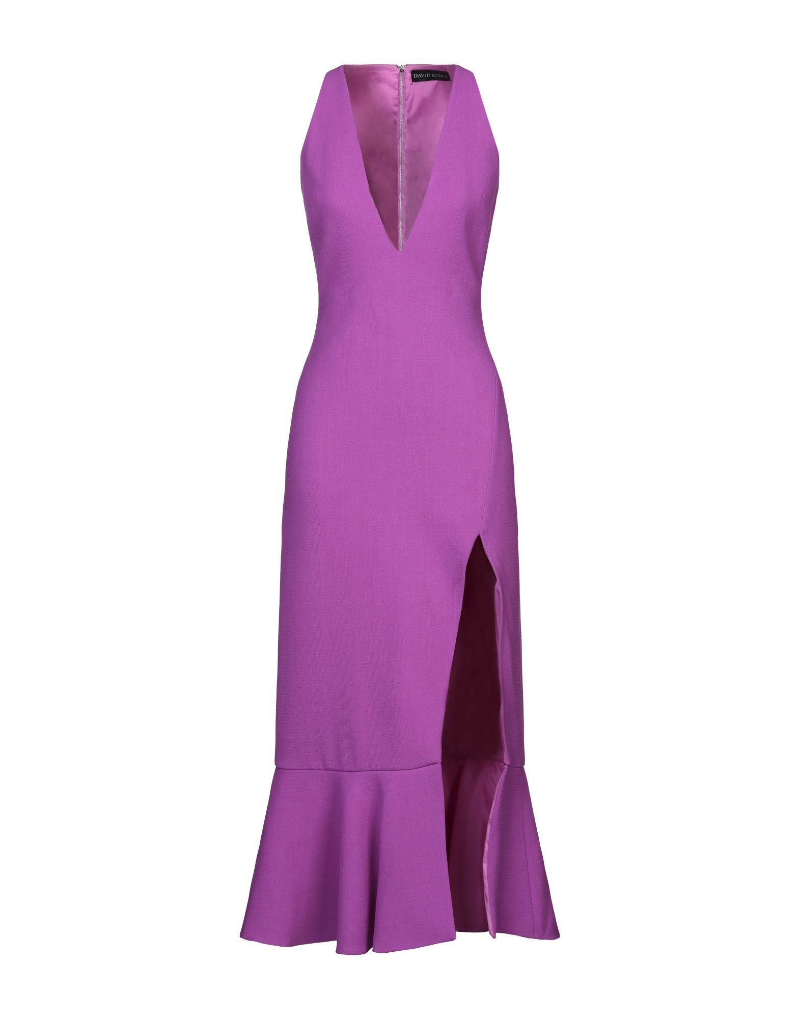 DAVID KOMA Длинное платье