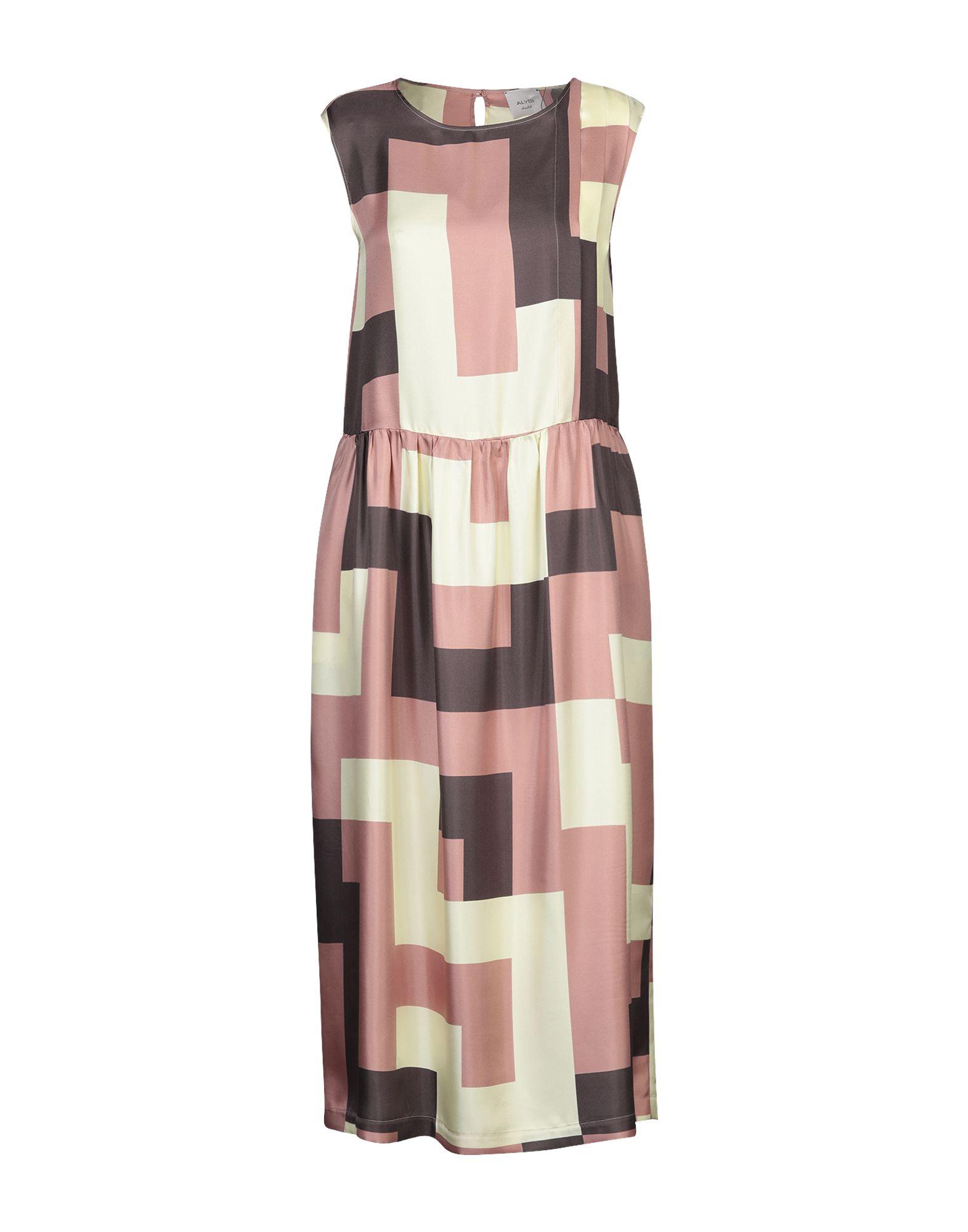 ALYSI Платье длиной 3/4 alysi платье длиной 3 4