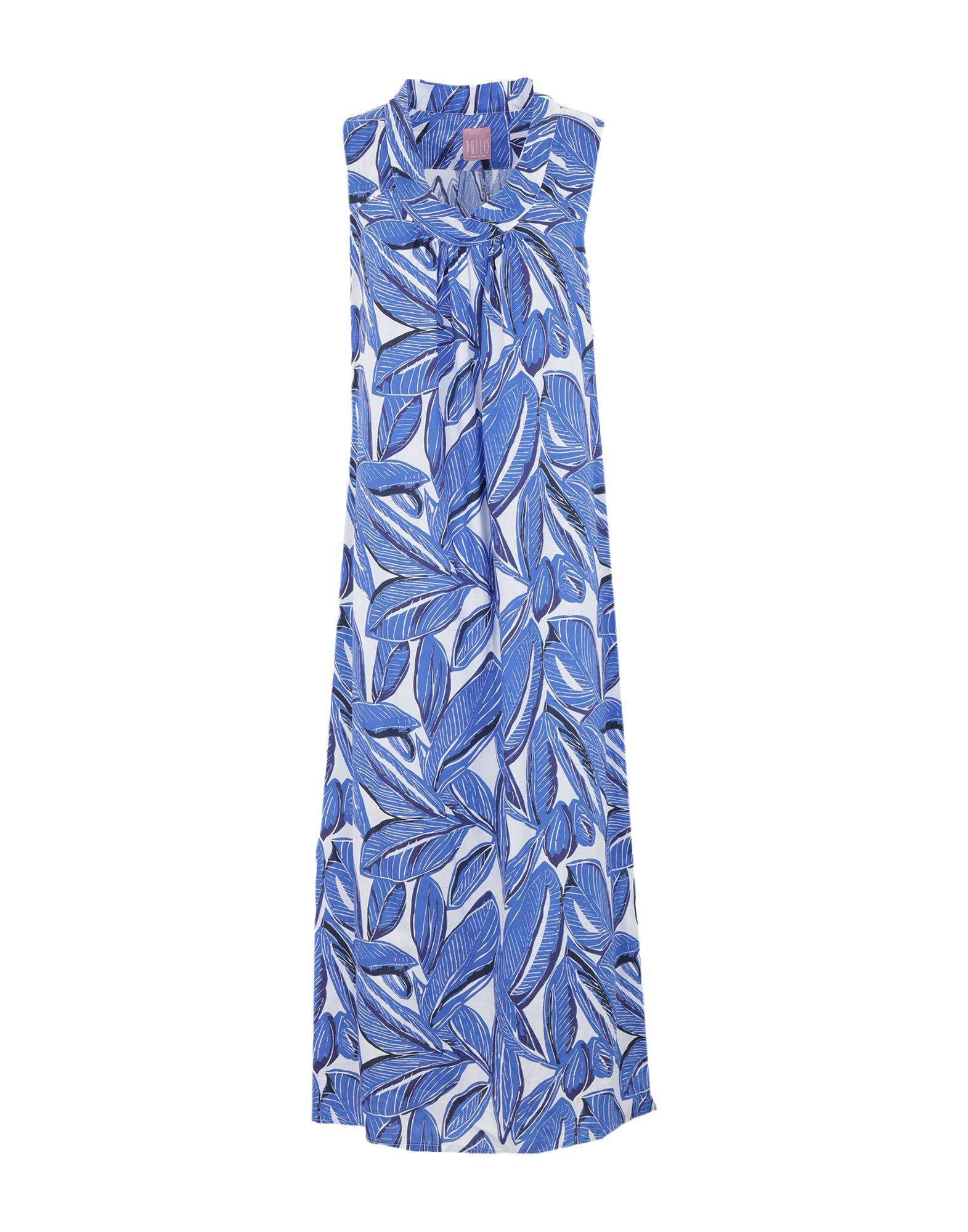 PHILO MODA Платье длиной 3/4 платье status moda цвет черный page 4
