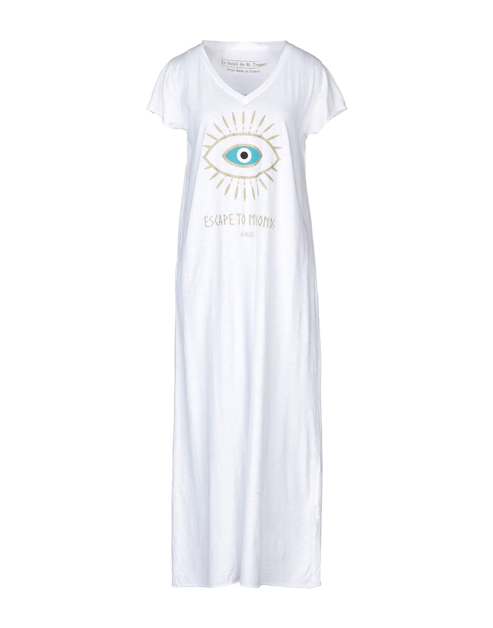 AU SOLEIL DE SAINT TROPEZ Платье длиной 3/4