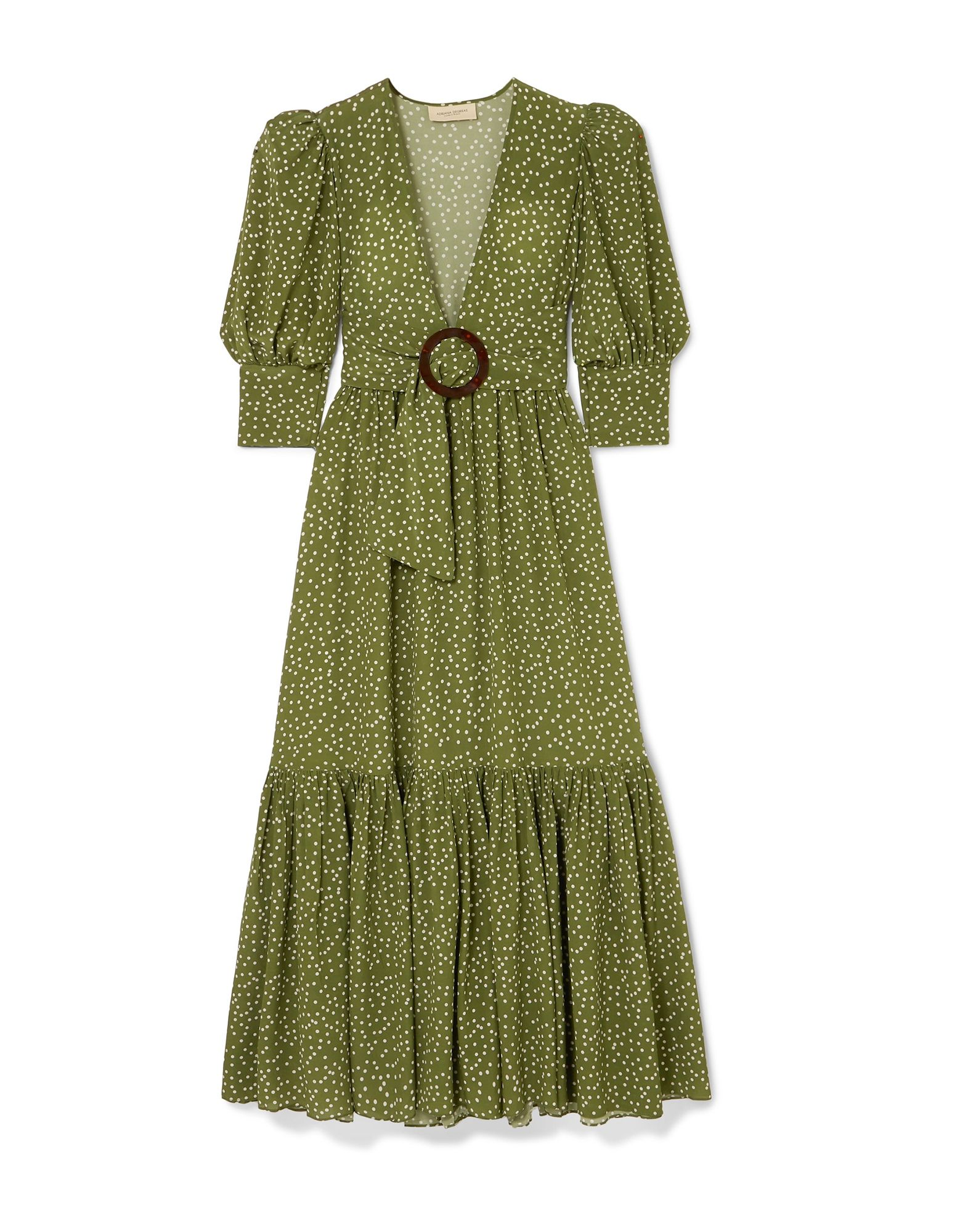 ADRIANA DEGREAS Длинное платье сумка adriana muti
