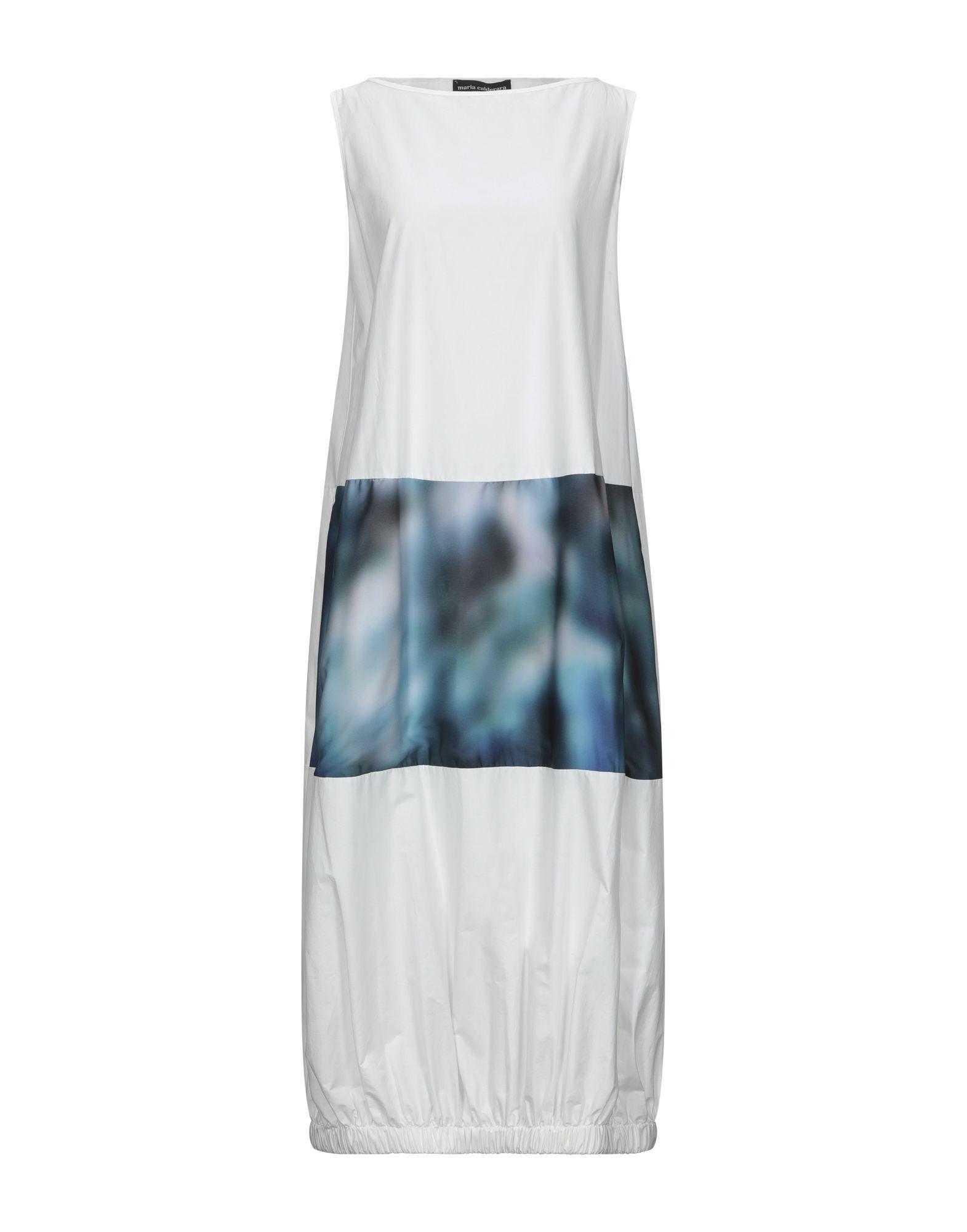 MARIA CALDERARA Платье длиной 3/4 maria calderara свитер