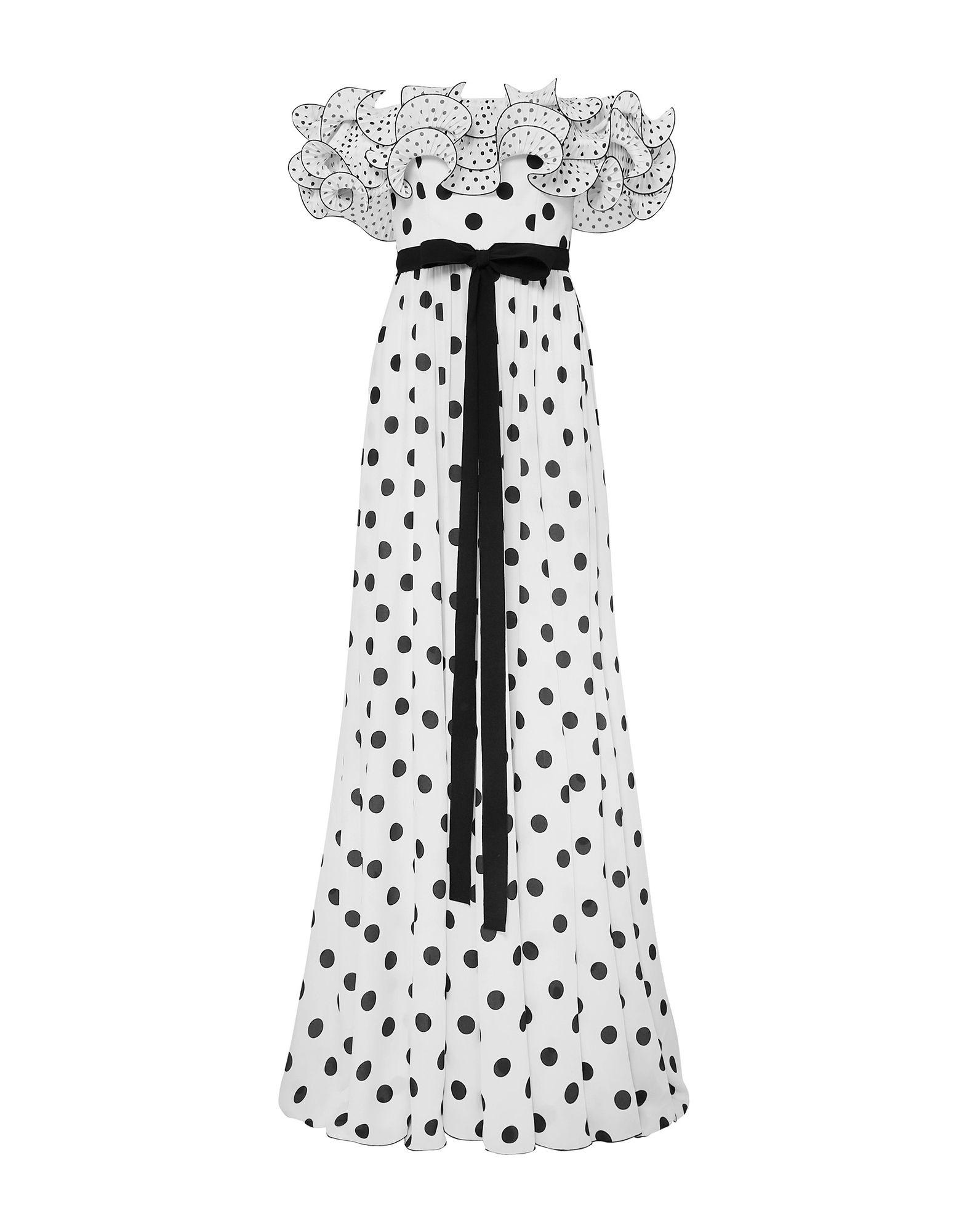 ANDREW GN Длинное платье