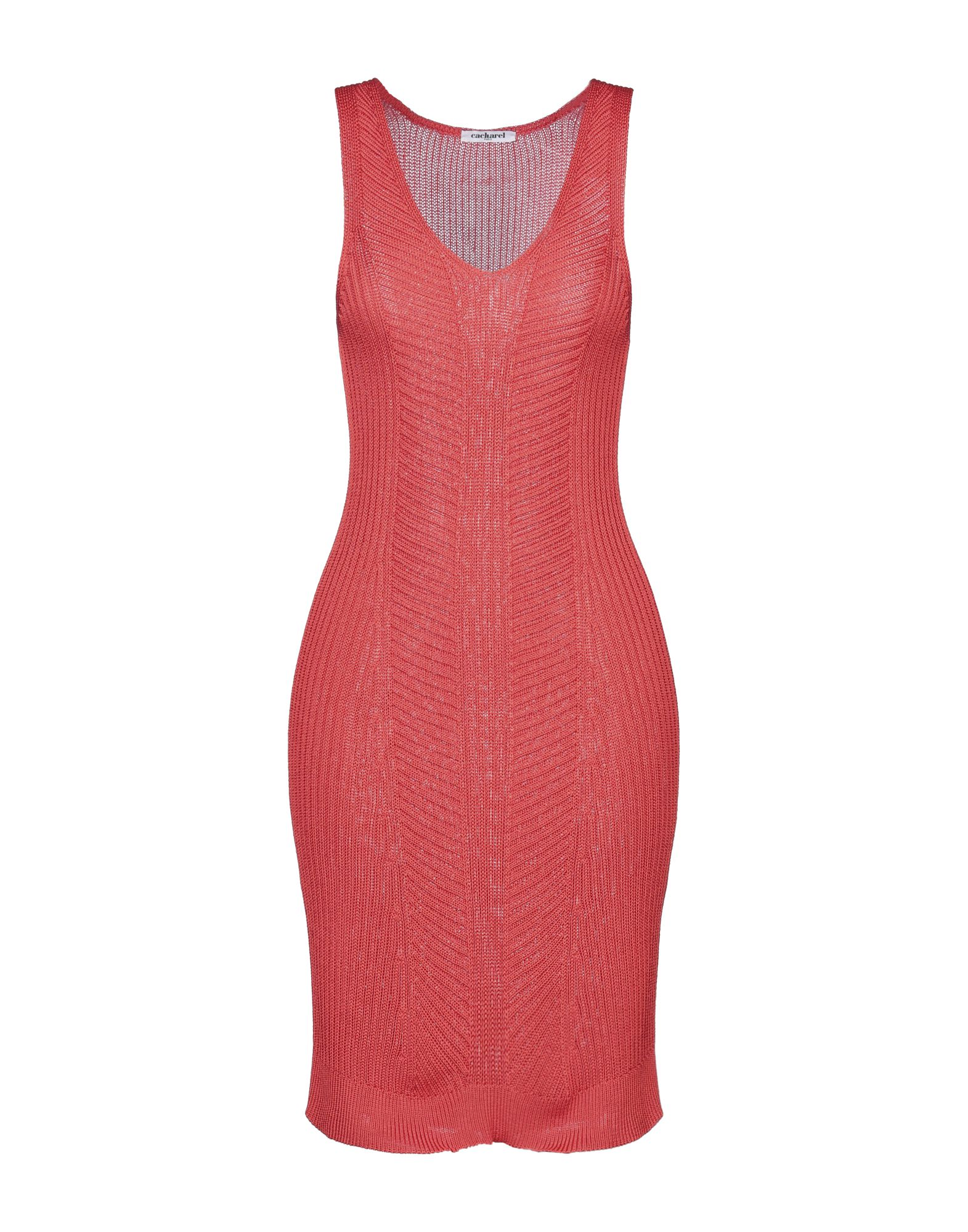 CACHAREL Платье до колена cacharel топ без рукавов