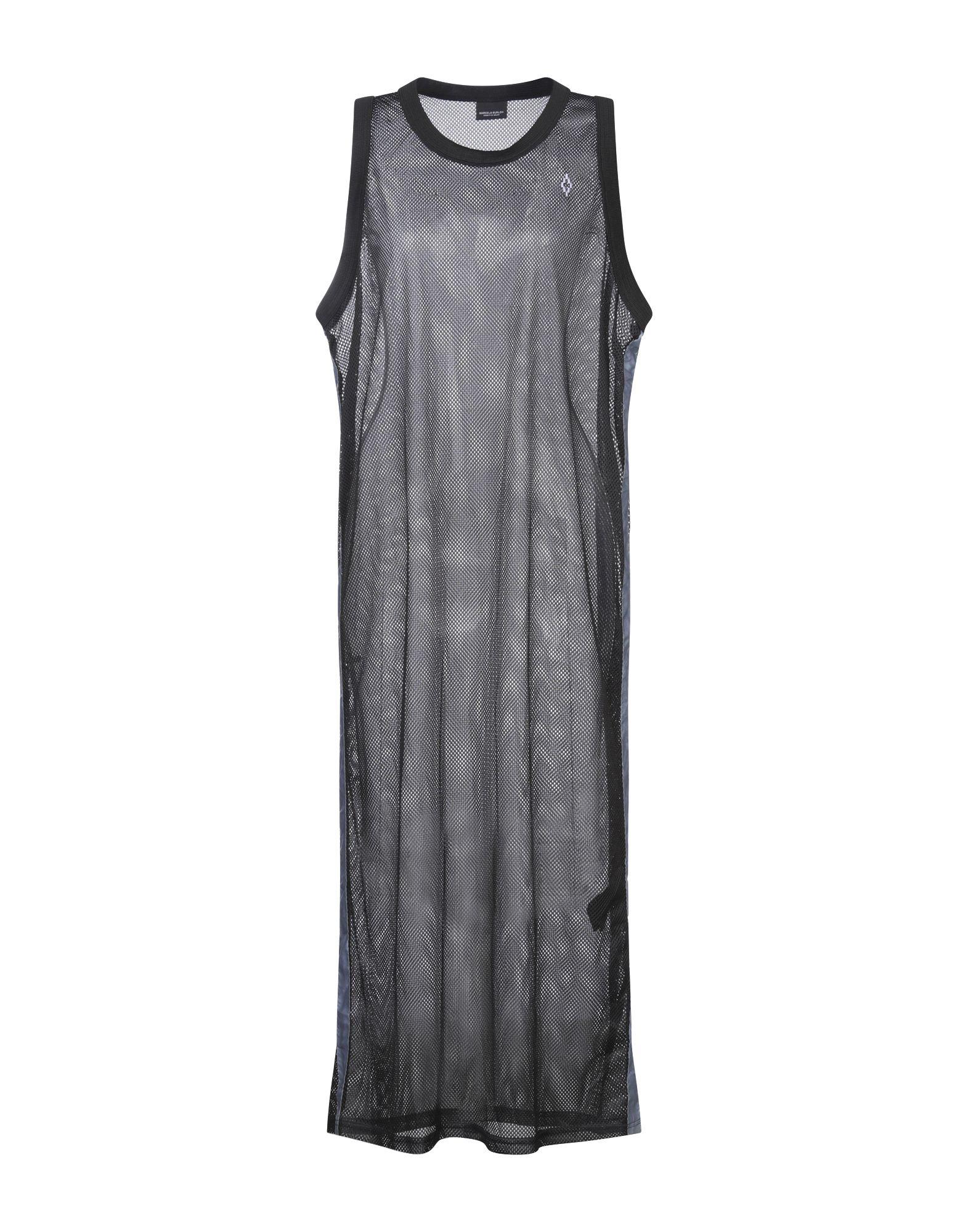 MARCELO BURLON Длинное платье