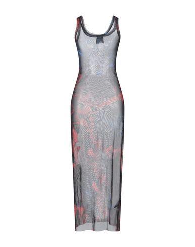 Длинное платье MARCELO BURLON 15020233RP