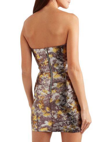 Фото 2 - Женское короткое платье SPRWMN фиолетового цвета