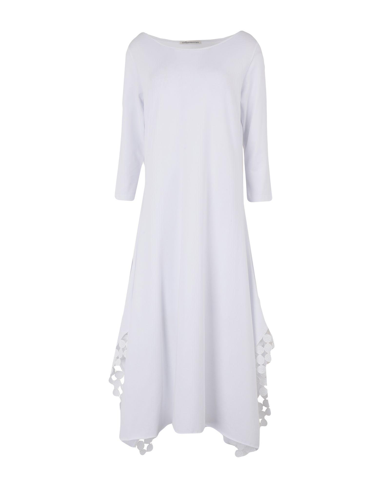 STEFANO MORTARI Платье длиной 3/4