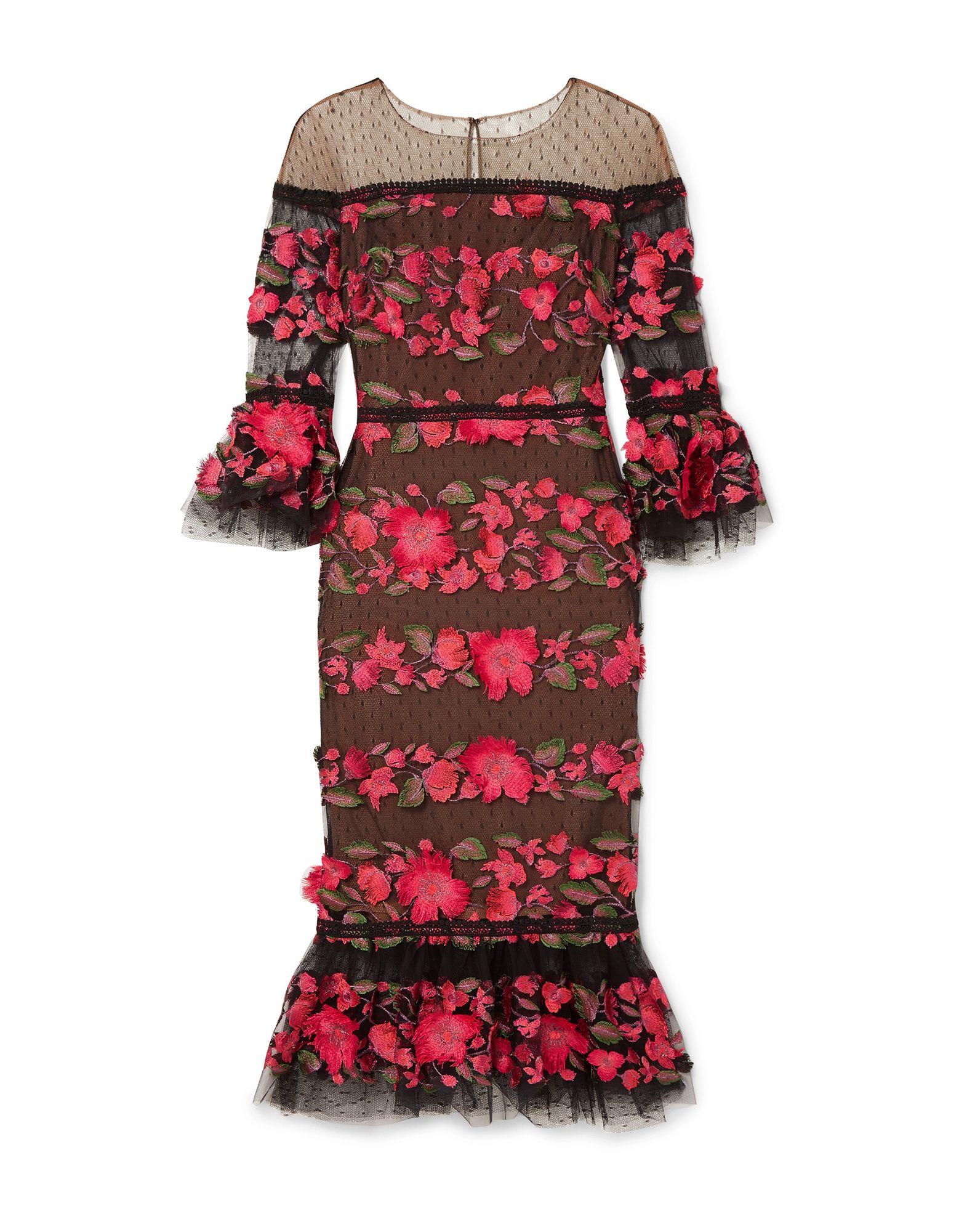 MARCHESA NOTTE Платье до колена