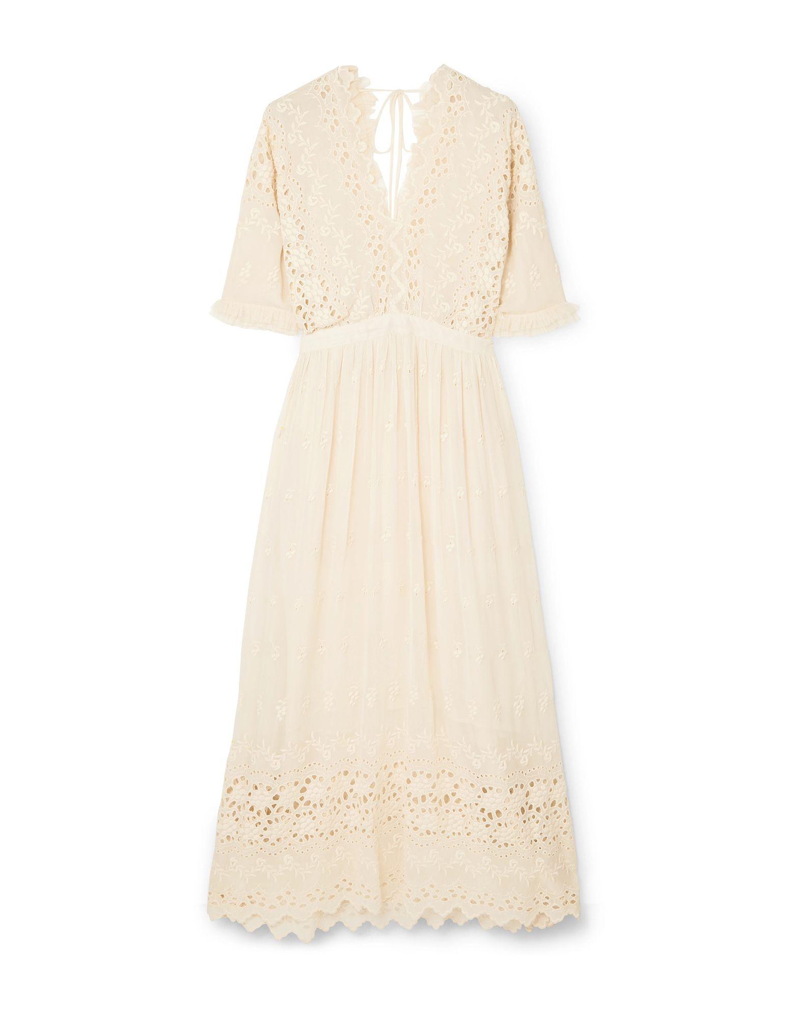 LOVESHACKFANCY Платье длиной 3/4