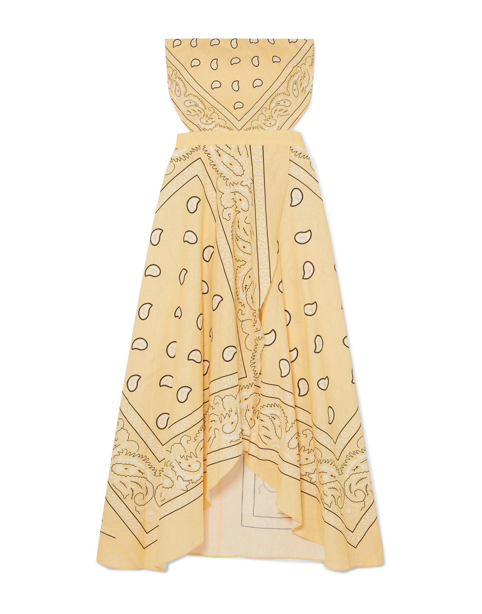 MIGUELINA Длинное платье